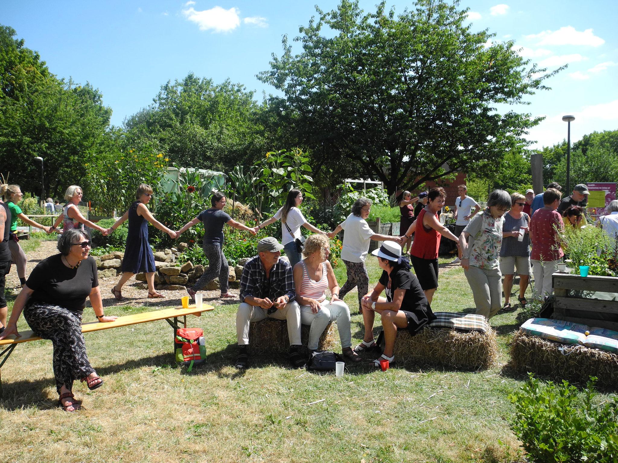 Sommerfest: Volkstanzen
