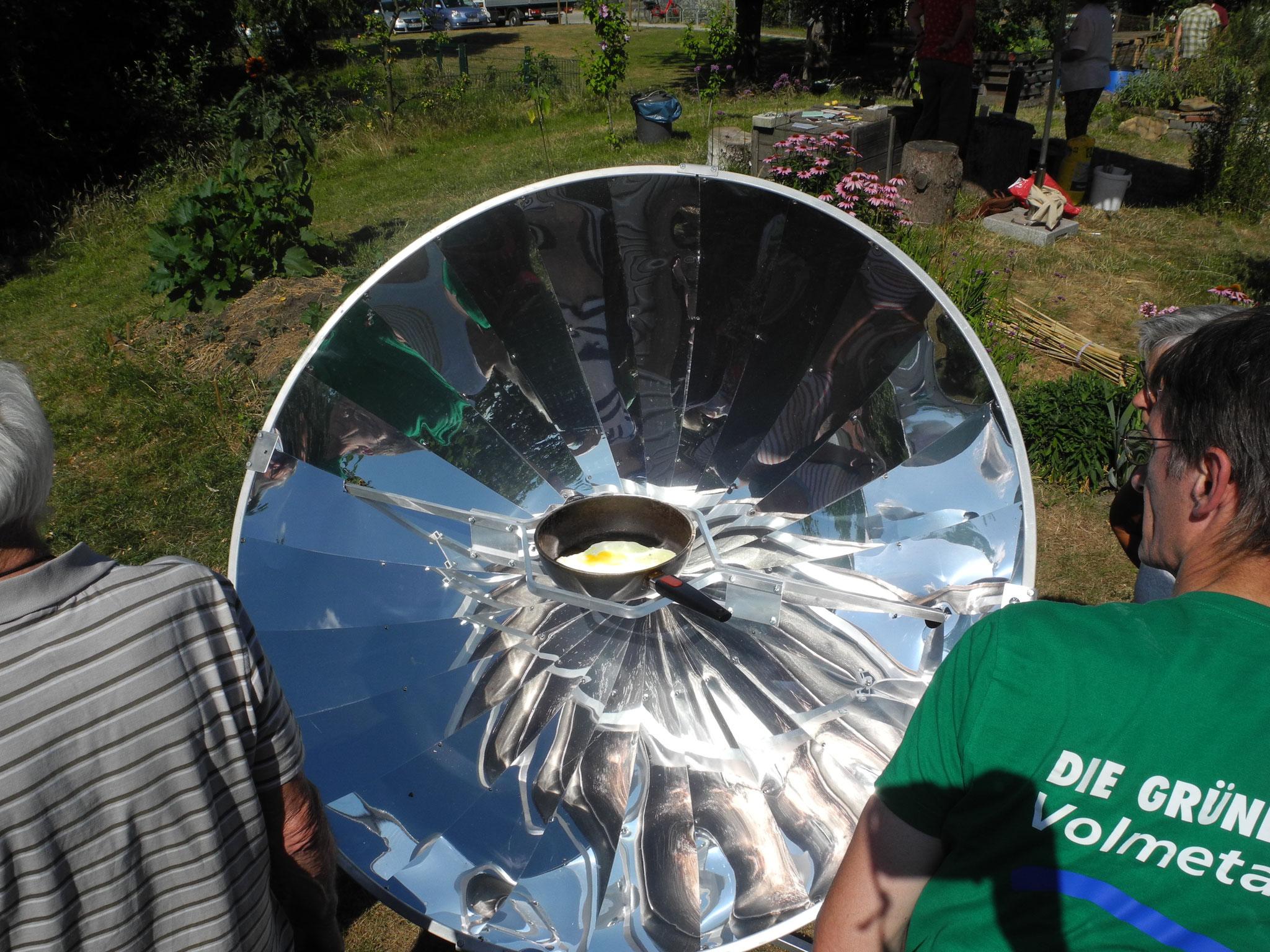 Sommerfest: Solarkocher