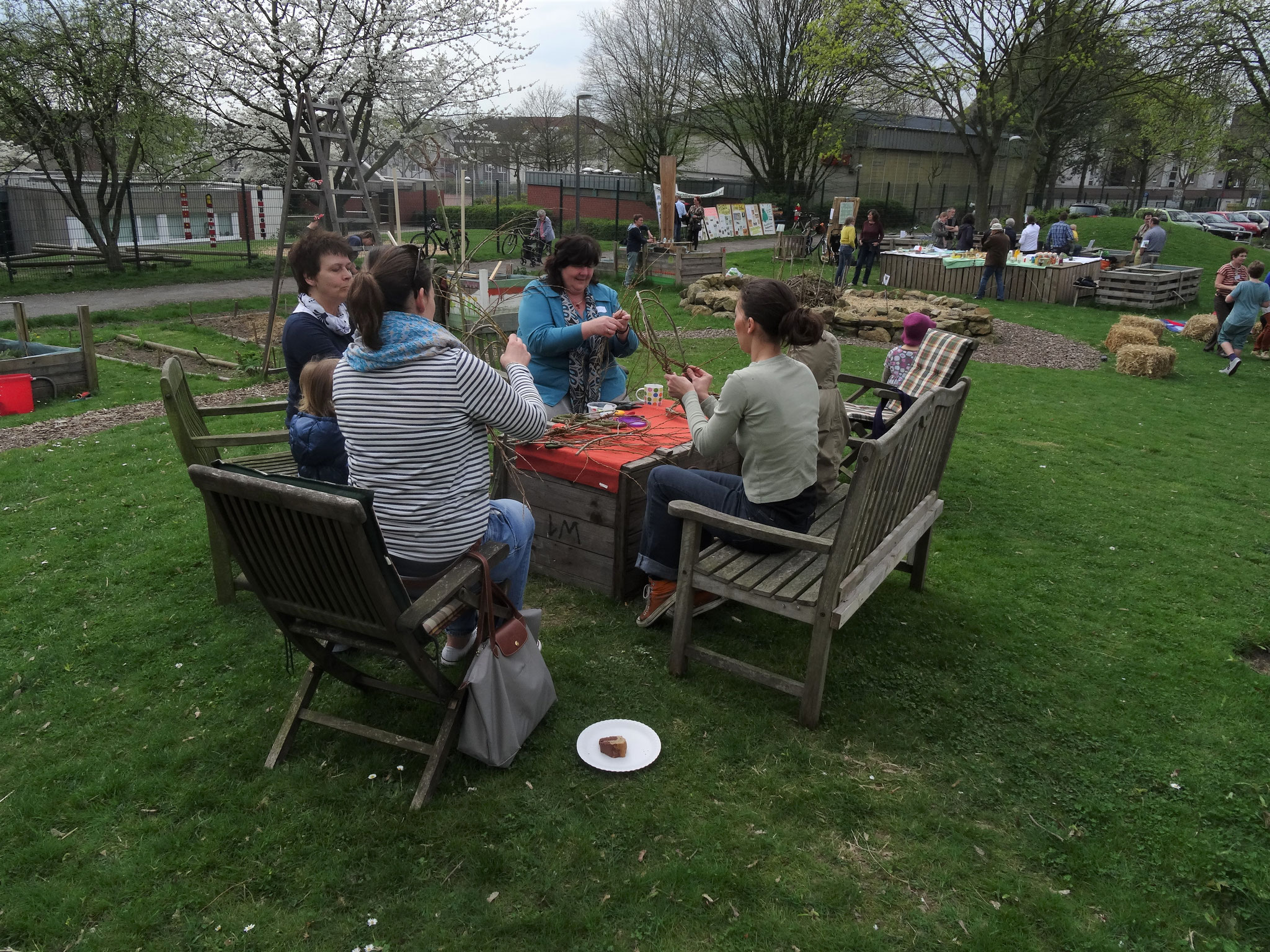Frühlingsfest 2017 - Weidenflechten