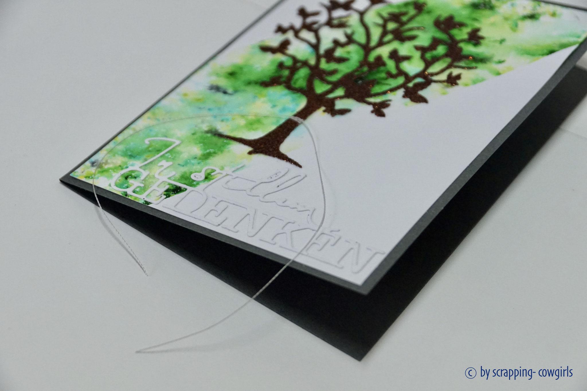 Trauer Baum Detail