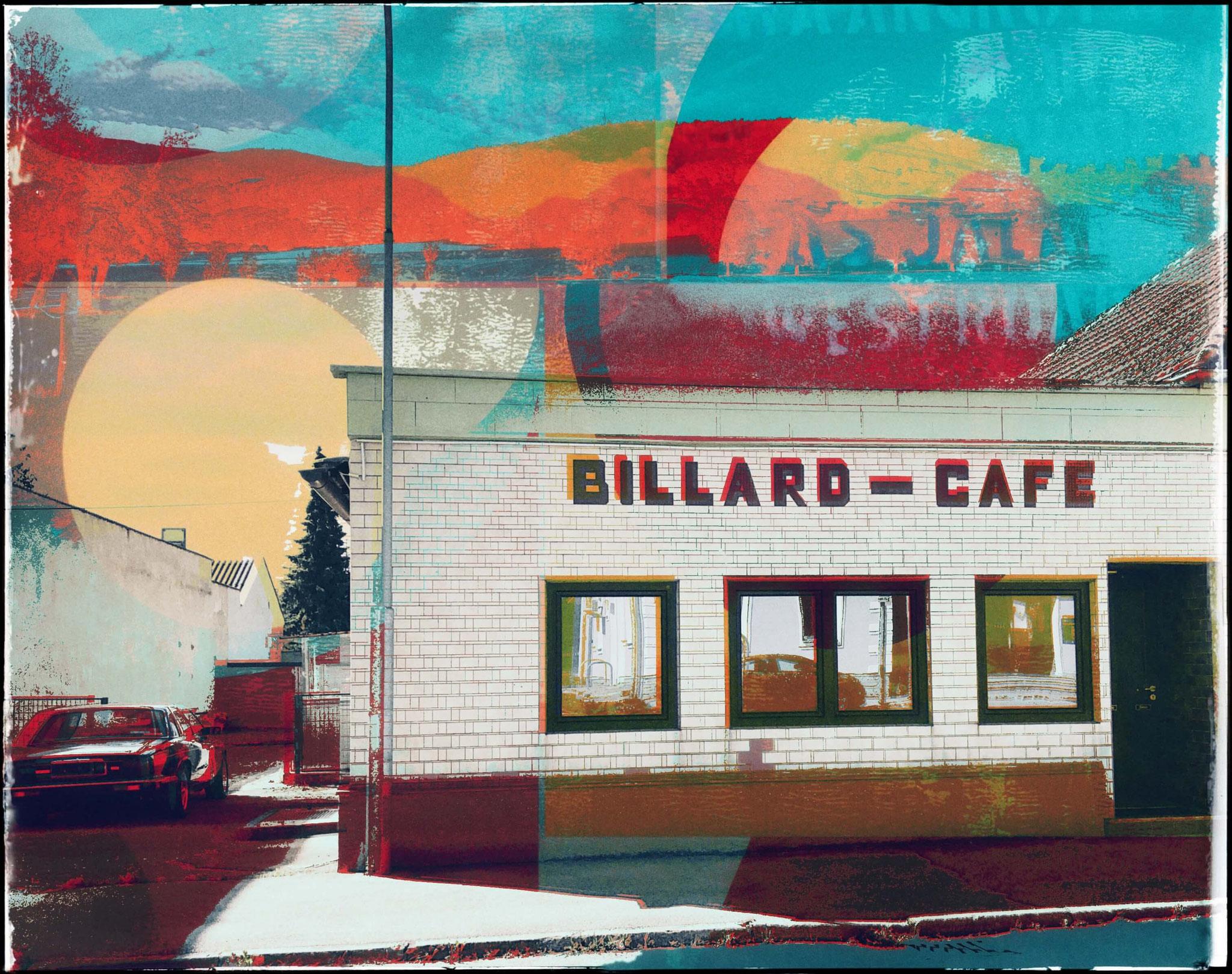 """hometowns"" - mixed media art - 2020"