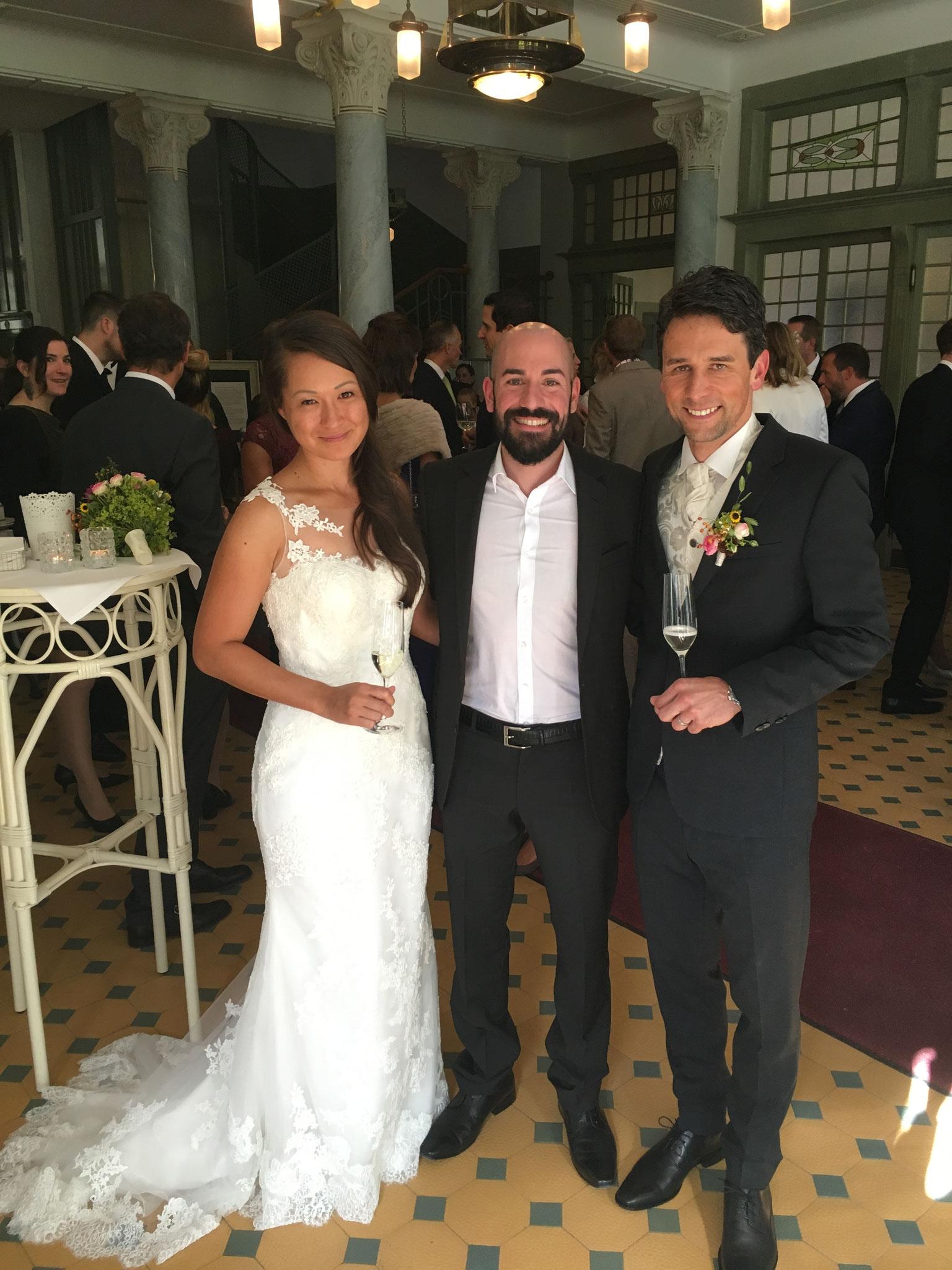 Kevin Thiede - Hochzeitssänger in Bergün, Schweiz