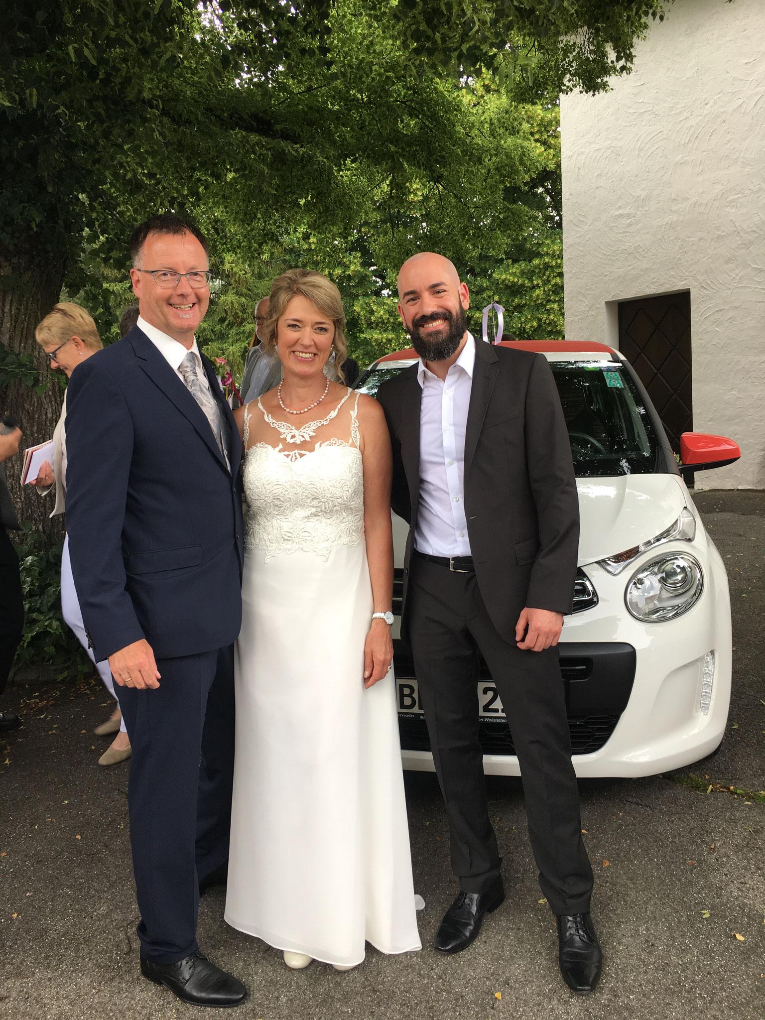 Kevin Thiede -Hochzeitssänger in Dürrwangen