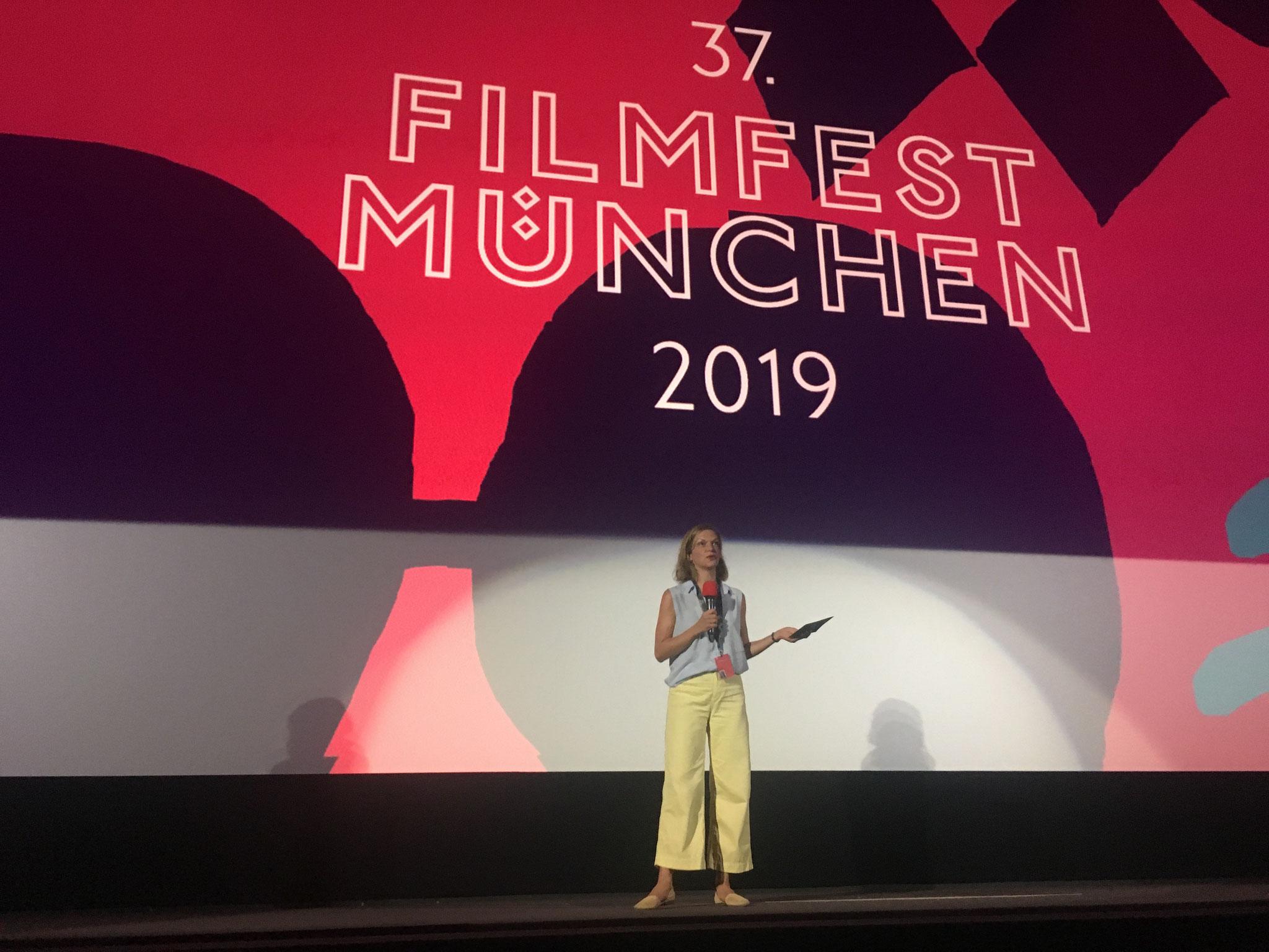 Moderation Filmfest München 2019