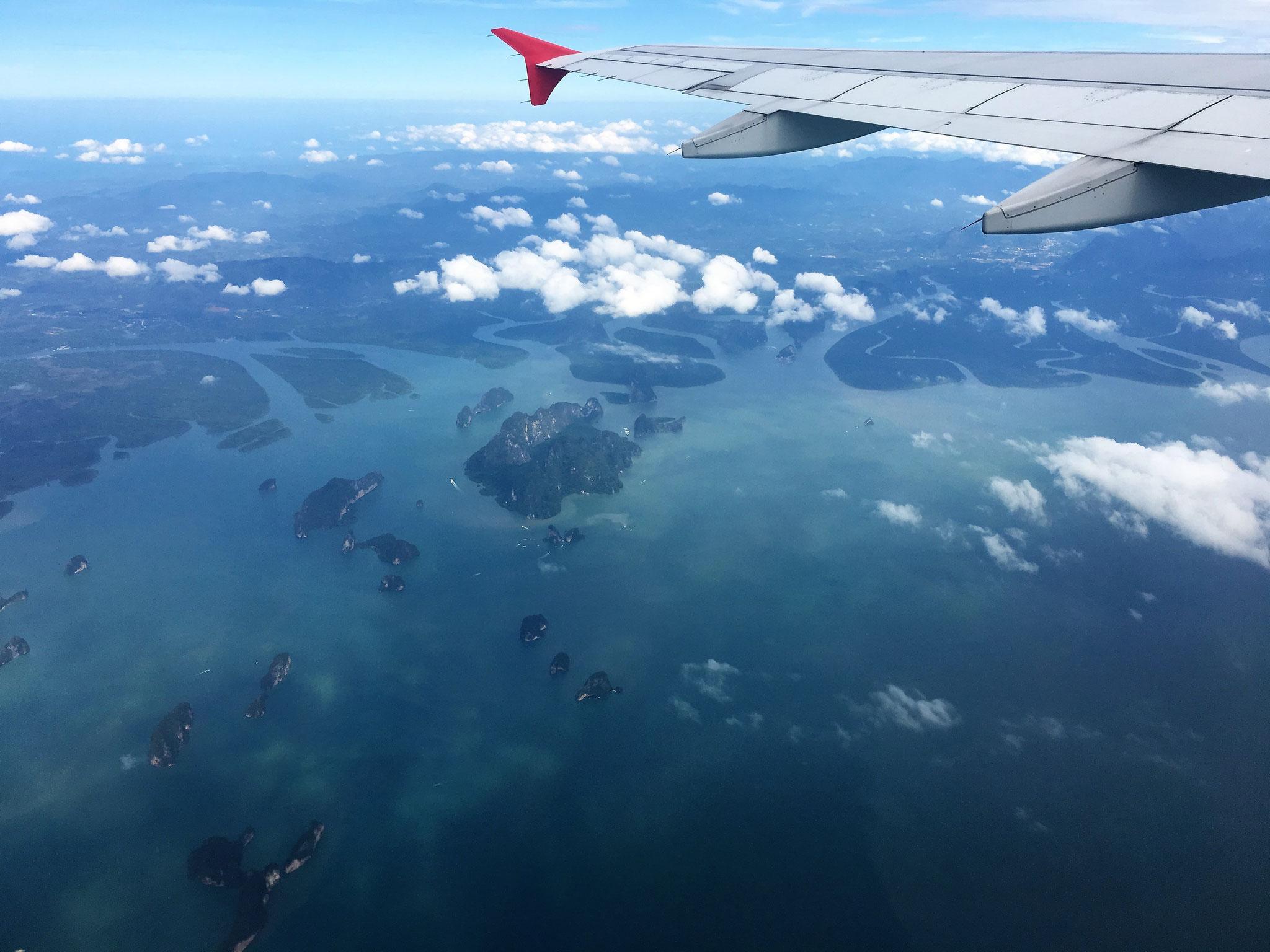 Phang Nga Bucht von oben