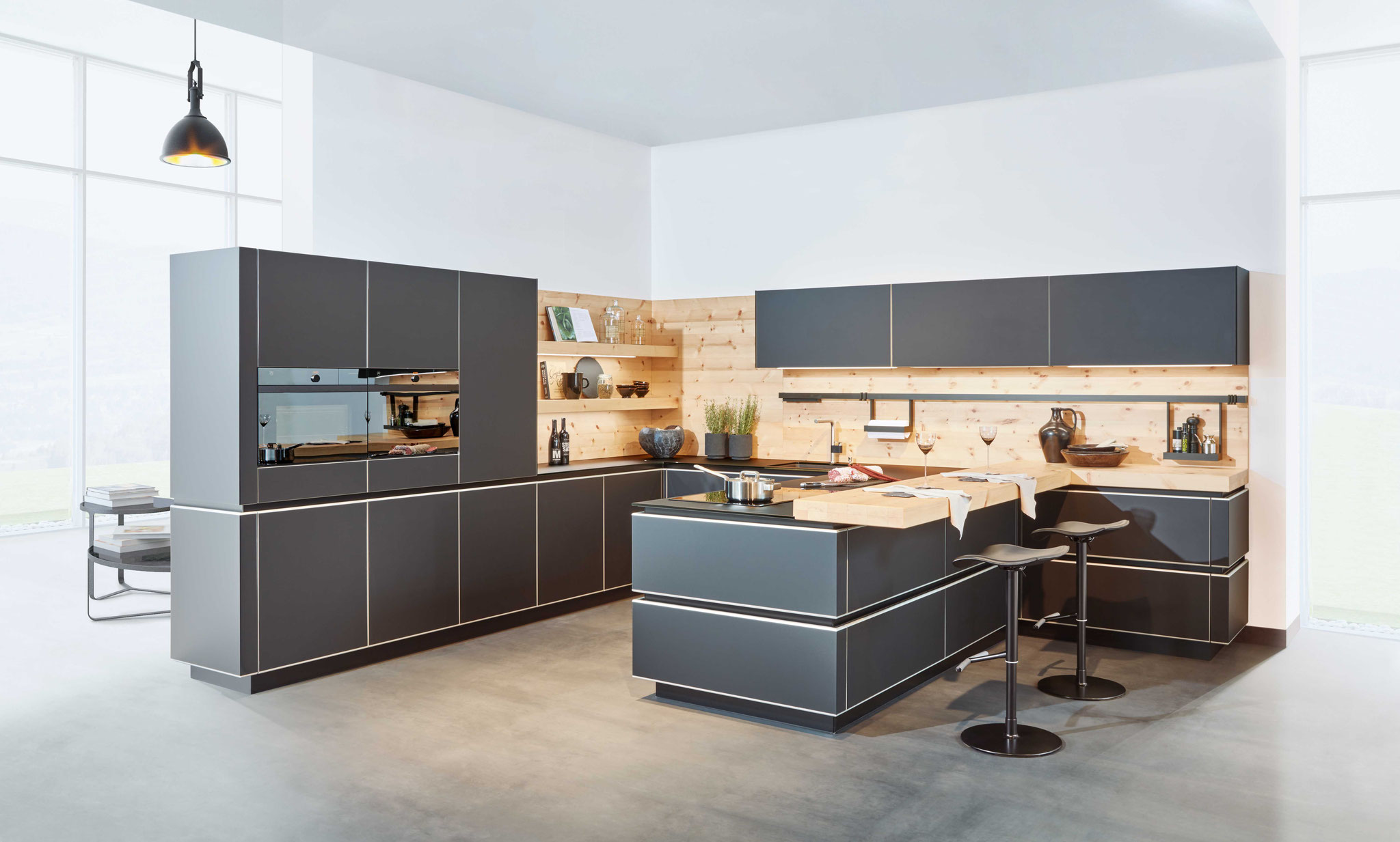 grifflose kueche erfahrung vor und nachteile. Black Bedroom Furniture Sets. Home Design Ideas