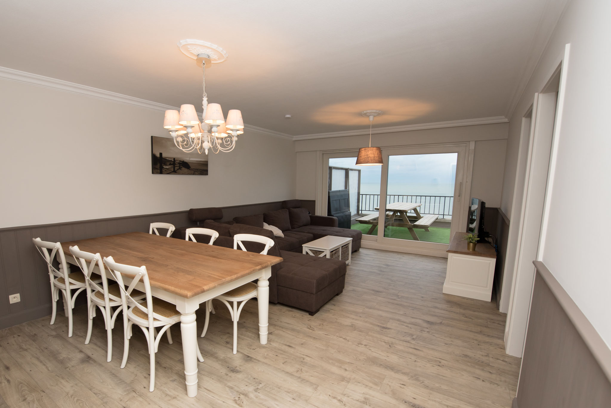 Middelkerke - Apt 2 Slpkmrs/Chambres - Bed and Beach