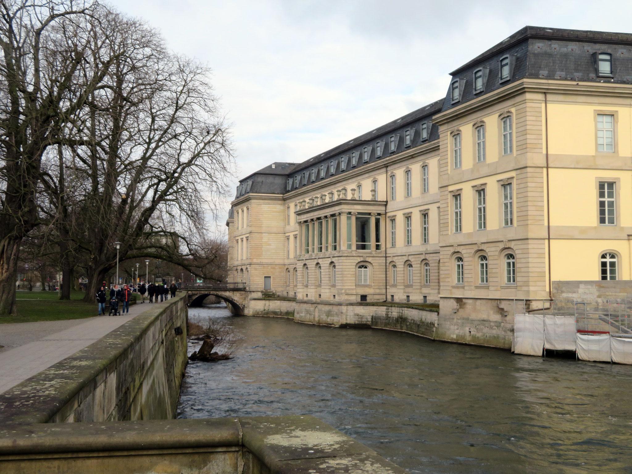 Leine-Schloss in Hannover - Niedersächsischer Landtag