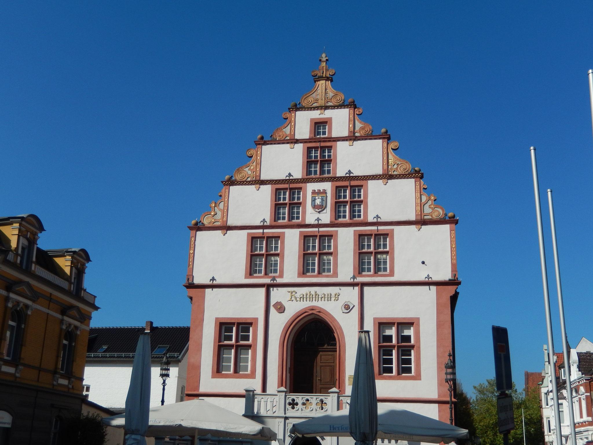 historisches Rathaus von Bad Salzuflen