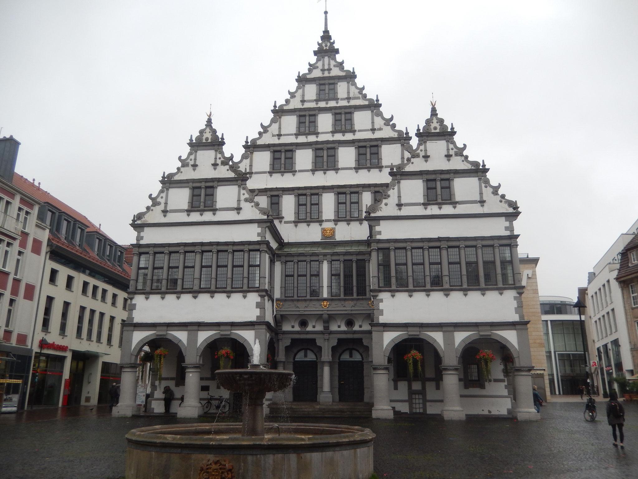 Weserrenaissance-Rathaus Paderborn
