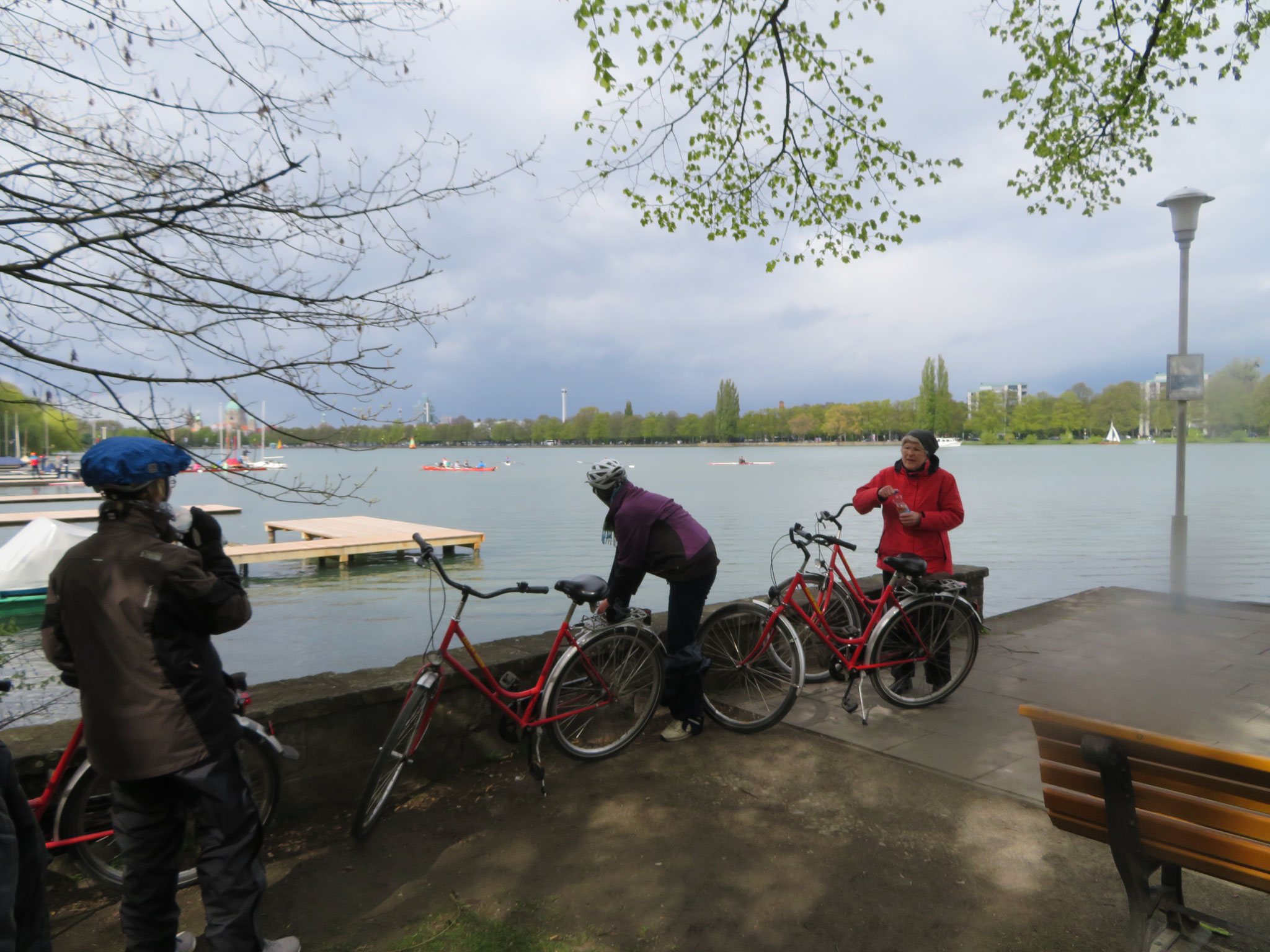 am Maschsee in Hannover
