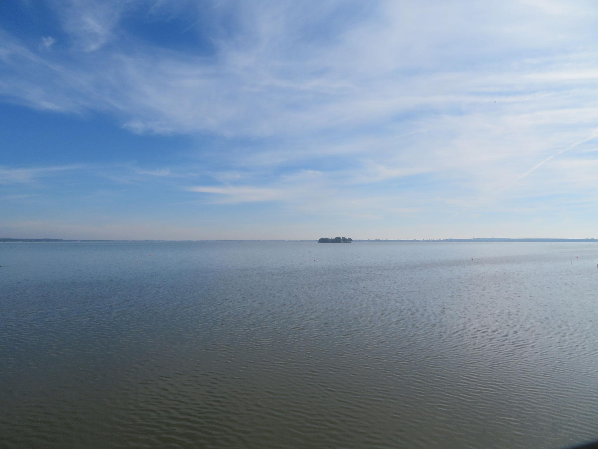 das Steinhunder Meer mit Inselfestung Wilhelmstein