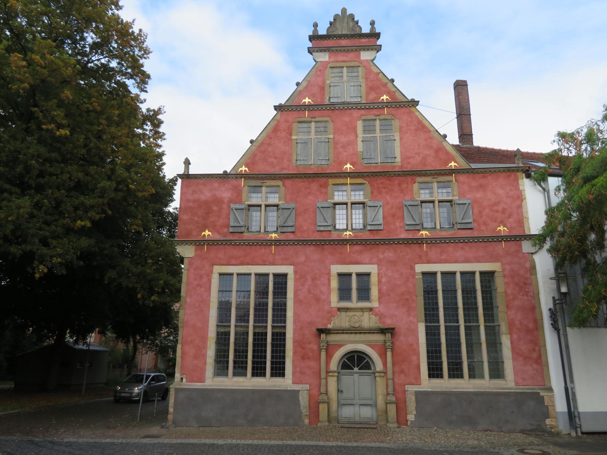 Frühherrenhaus an der Petersilienstraße in der Herforder Neustadt