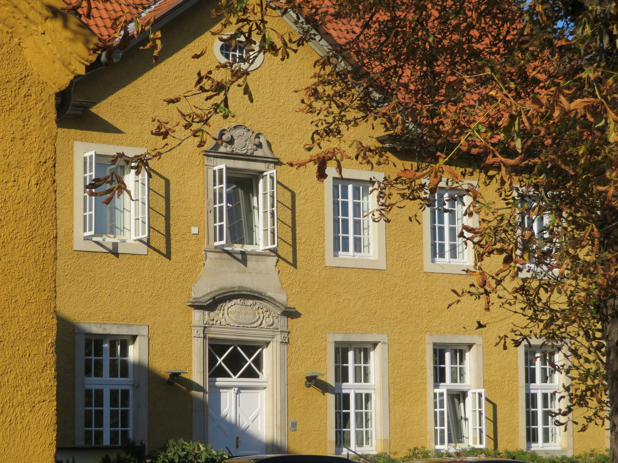 barokes Rathaus von Hilter am Teutoburger Wald