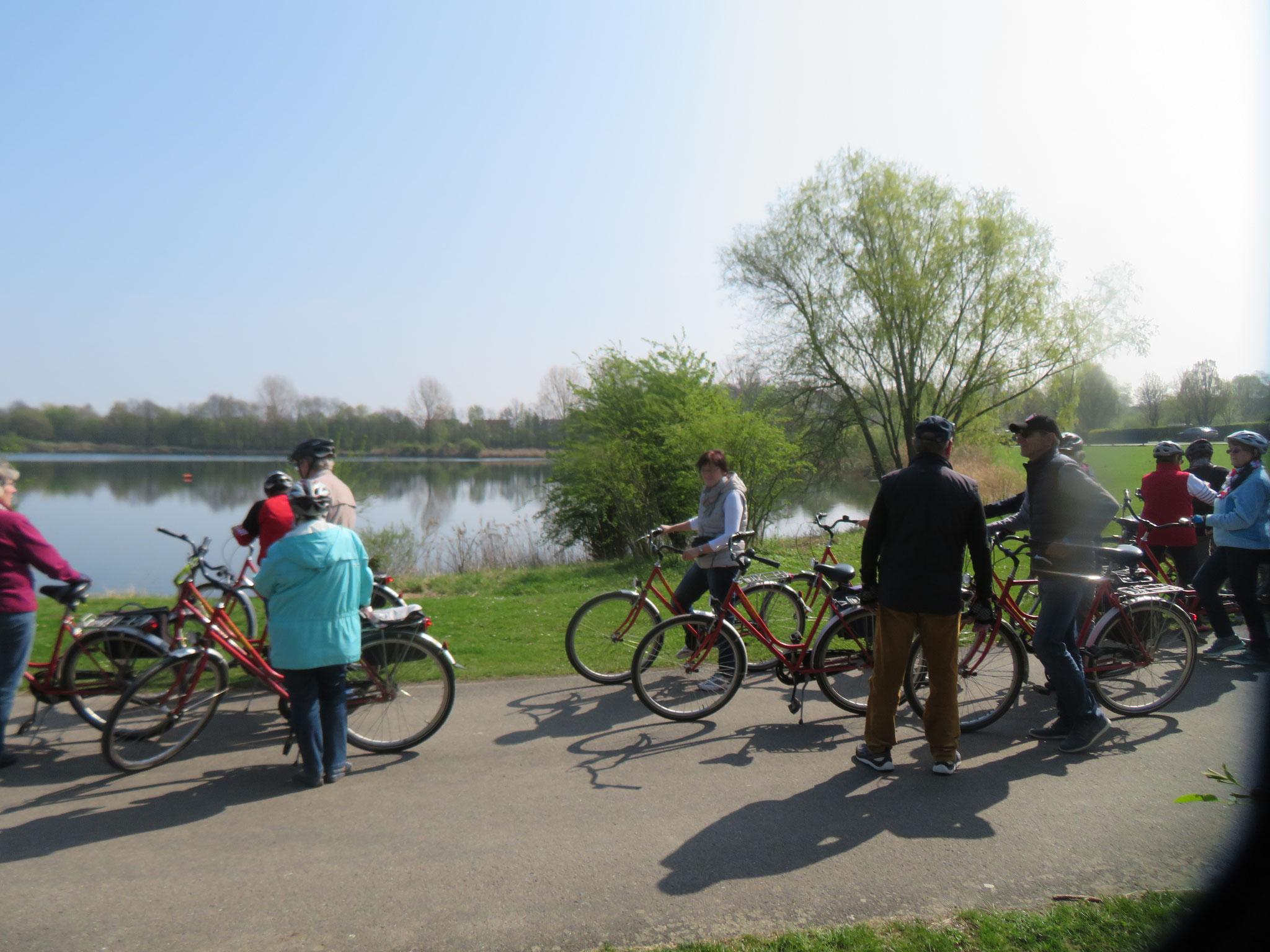 Pause an den Giftener Seen bei Sarstedt