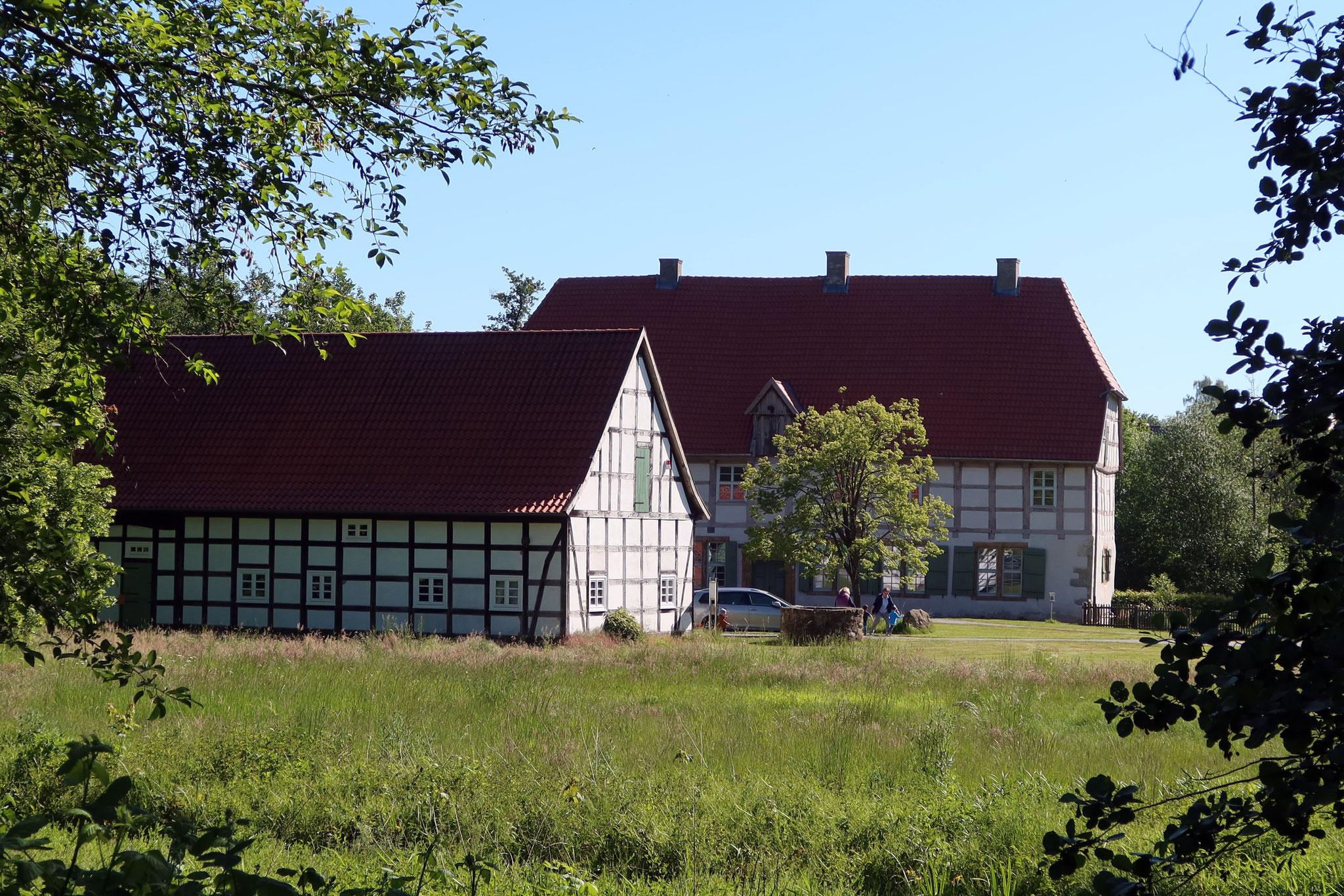 Werburg in Spenge - ehemalige Wasserburg der Adelsfamilie von Ledebur