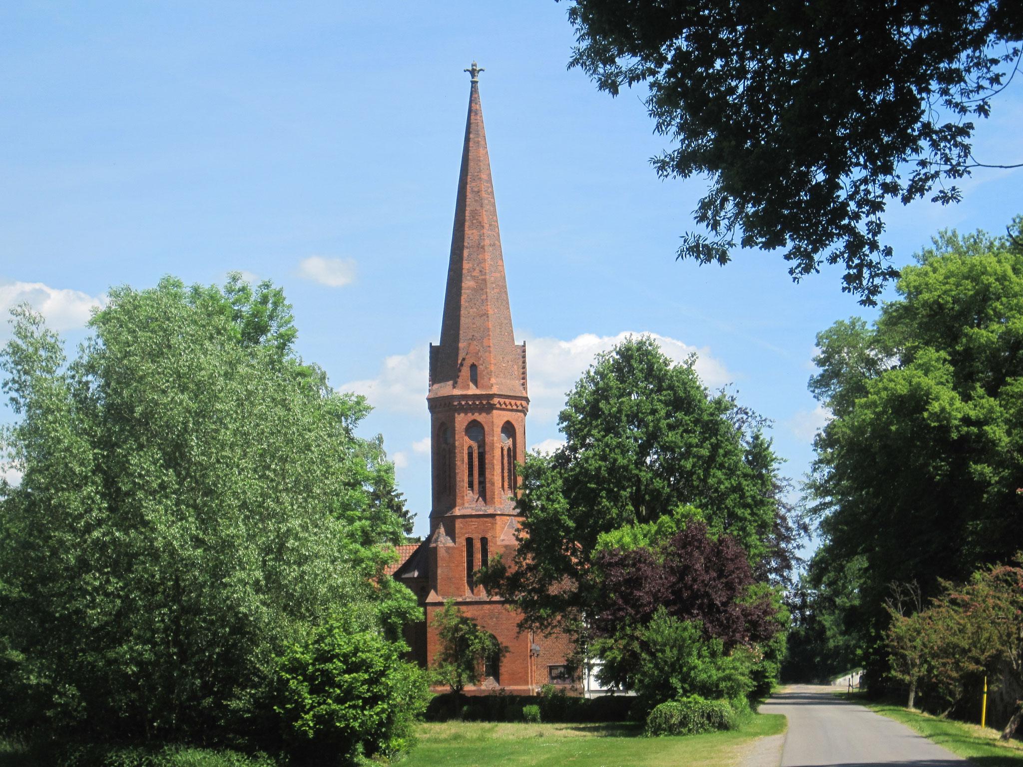 altgotische Fachwerkkirche Arenshorst