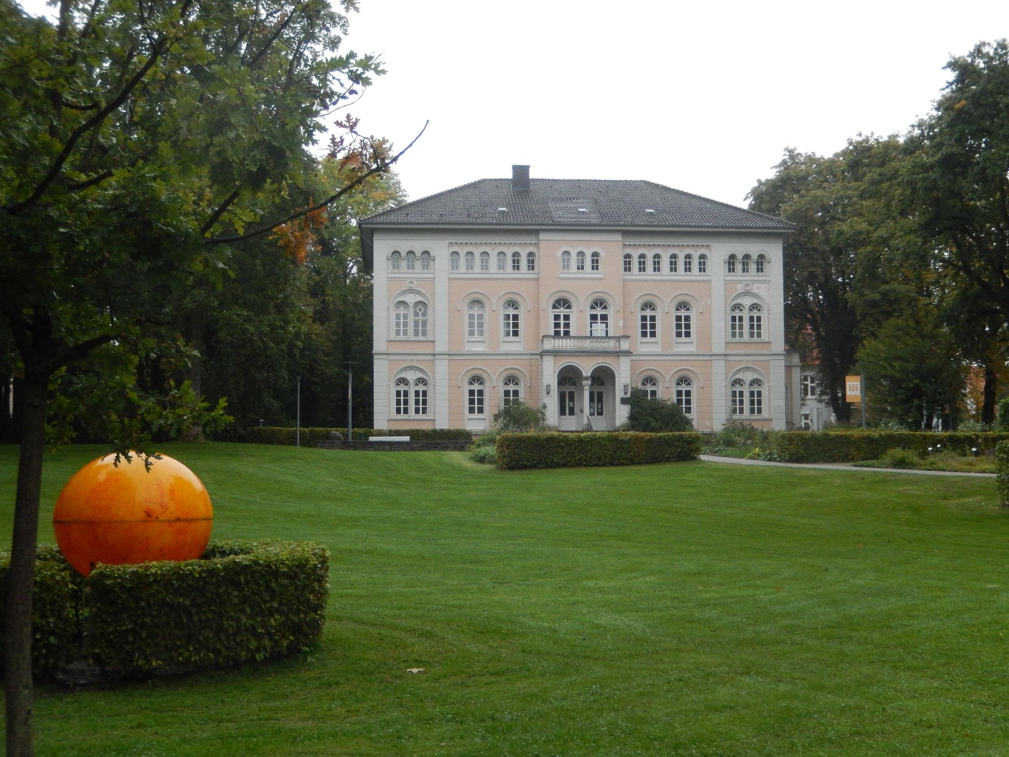 Prinzenpalais im Arminuspark in Bad Lippspringe