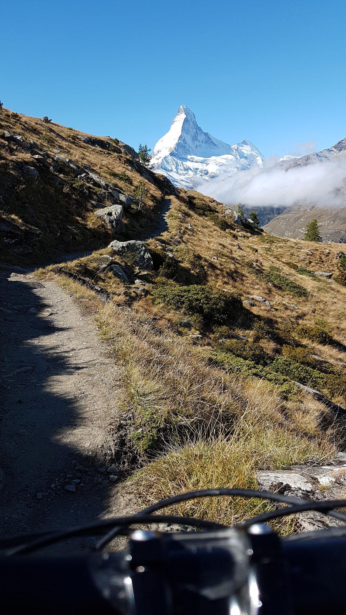 Europaweg nach Zermatt