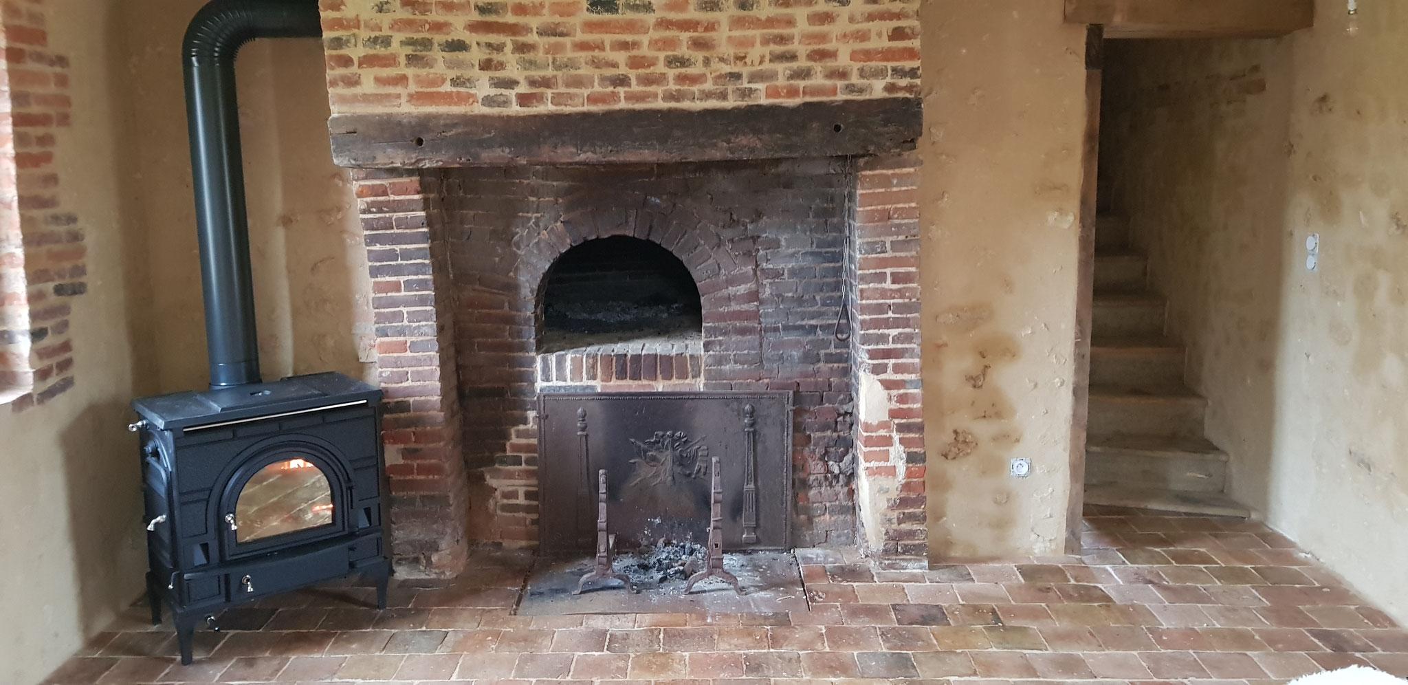 Rénovation d'une pièce à feu