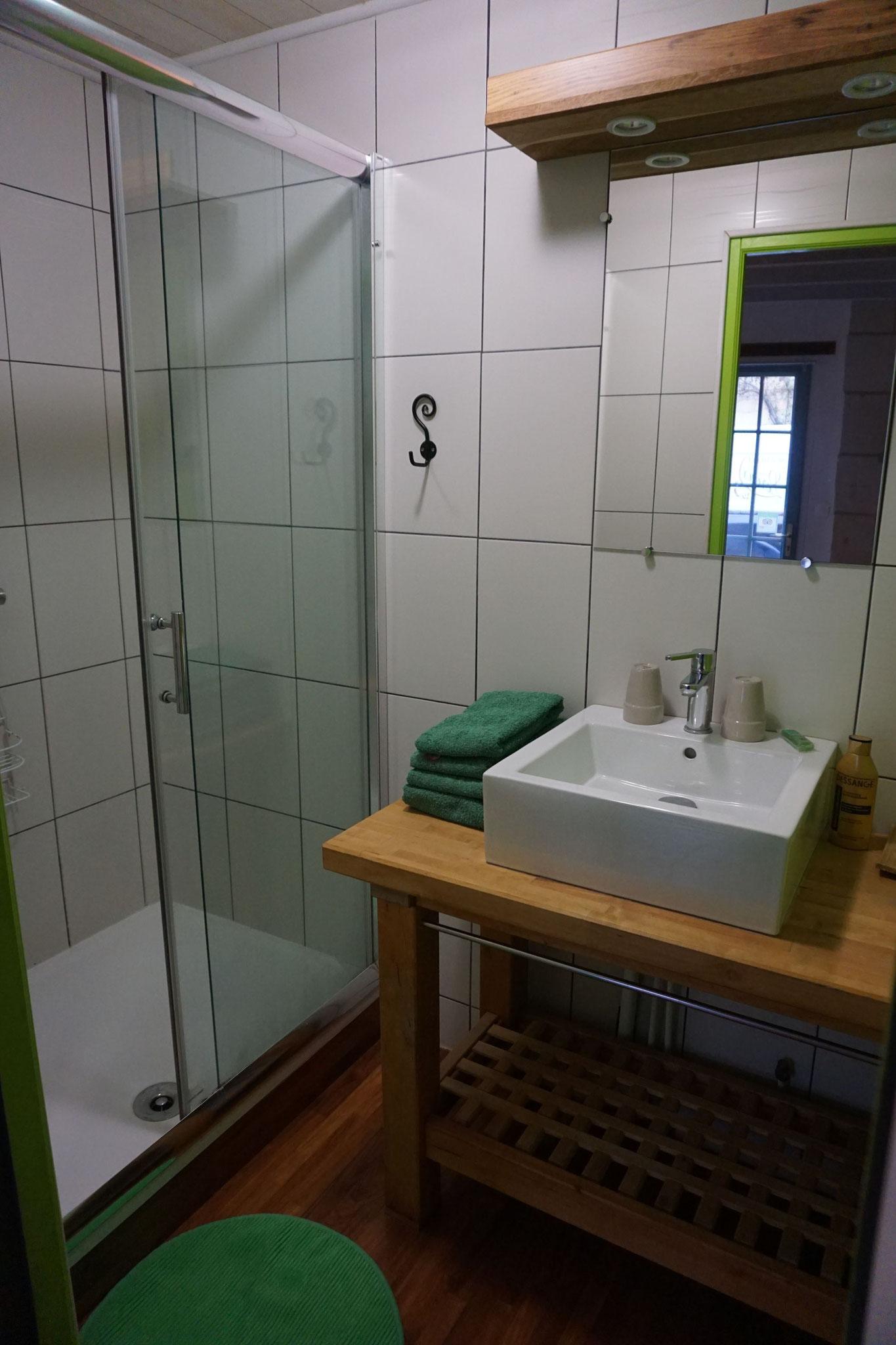 Salle de bain douche 90 x 120 cm