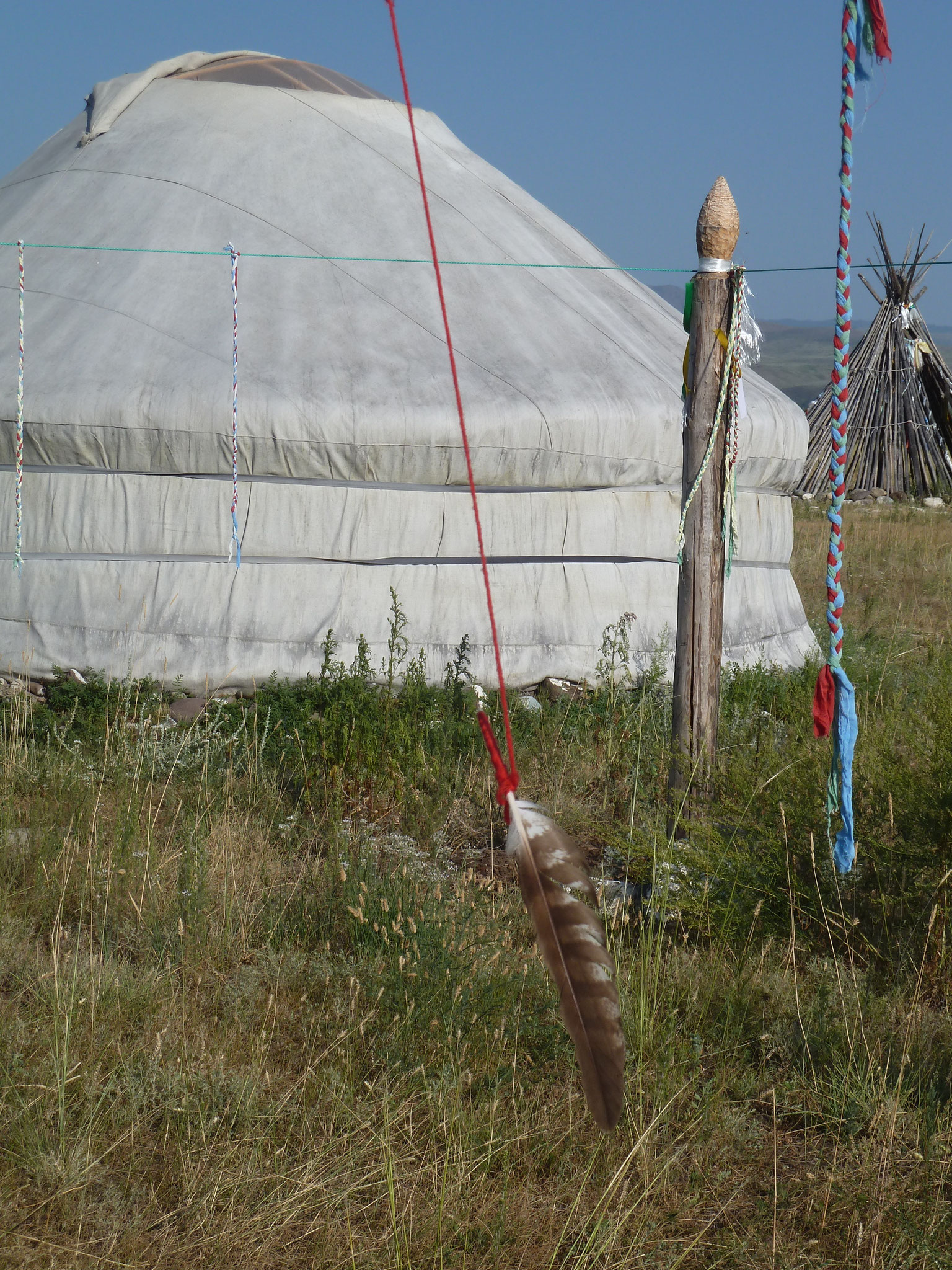 Yurt Camp at Bij-Chem