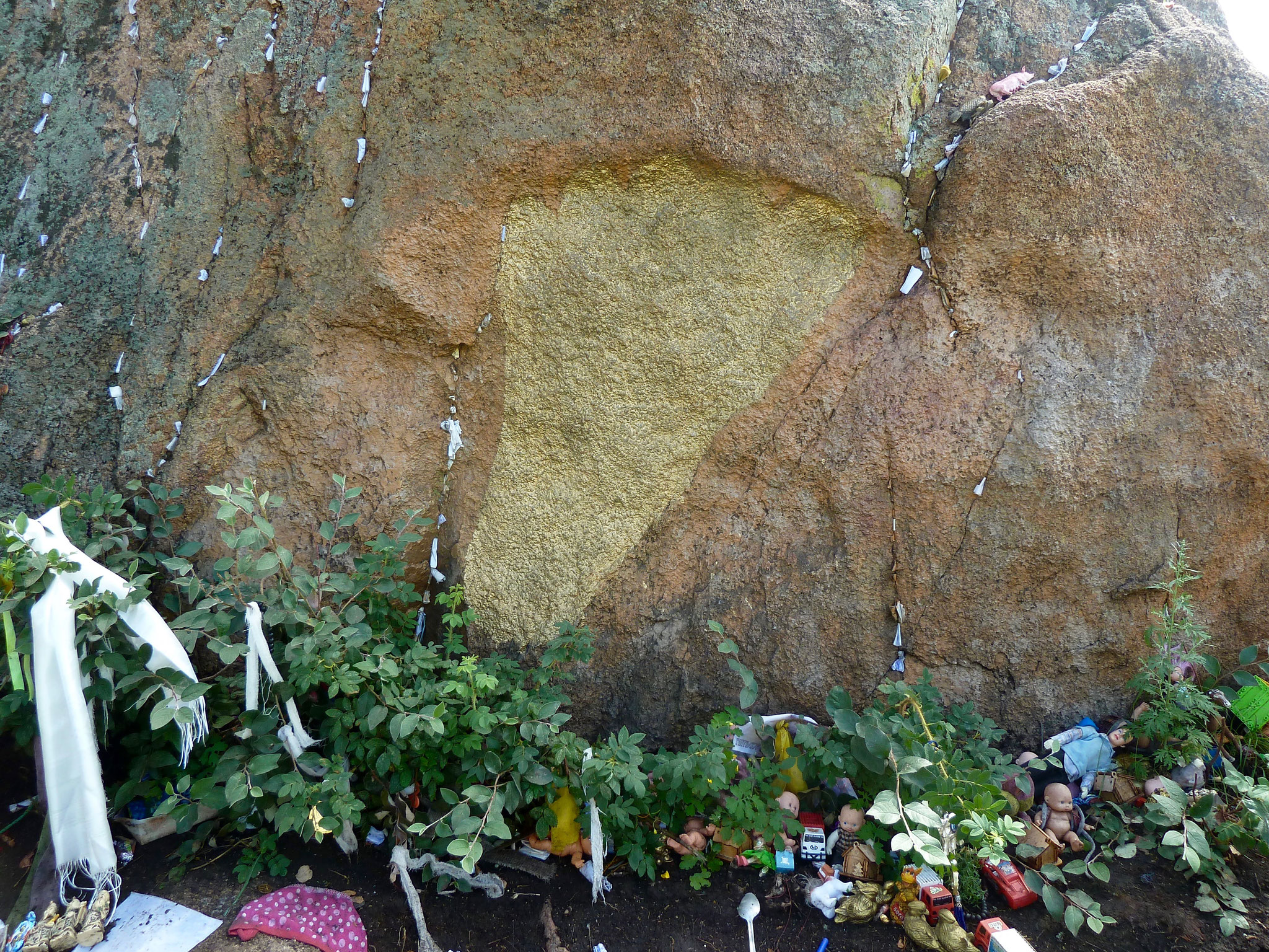 Footprint of a God in Suthern Tuva