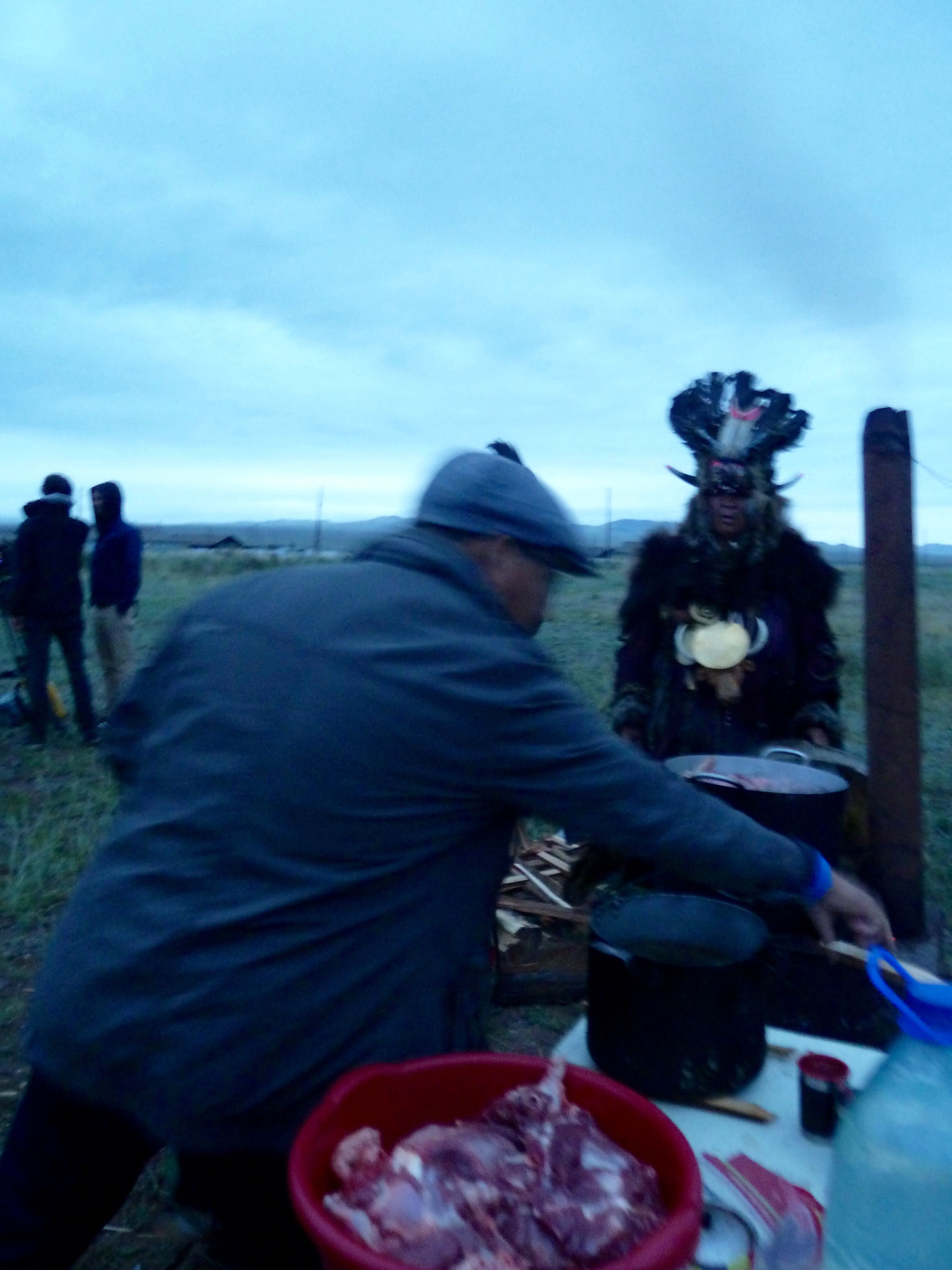 The great ceremony 'Honoring 30.000 years of Tuvan Shamanism'