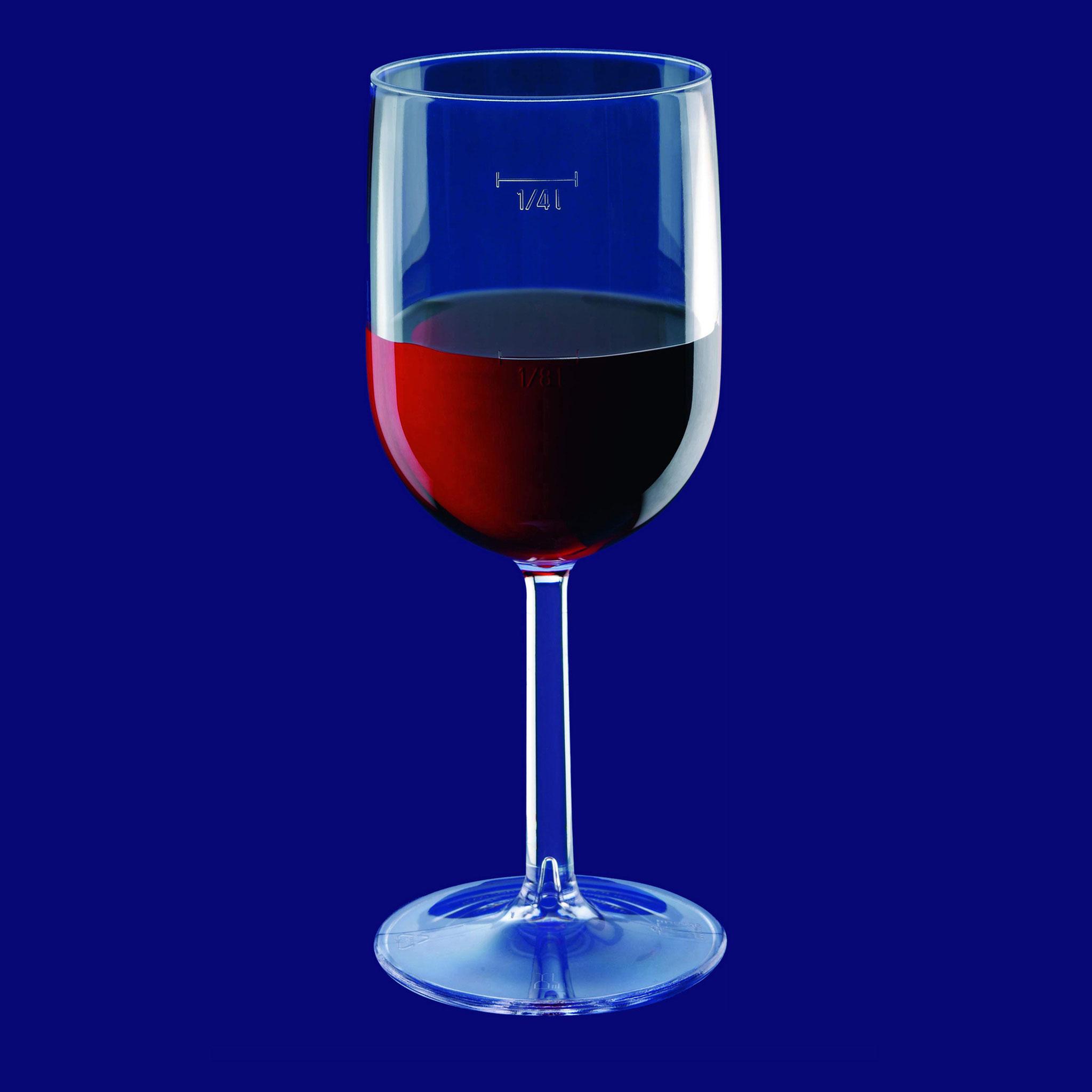 Weinglas 0.125/0.25dl