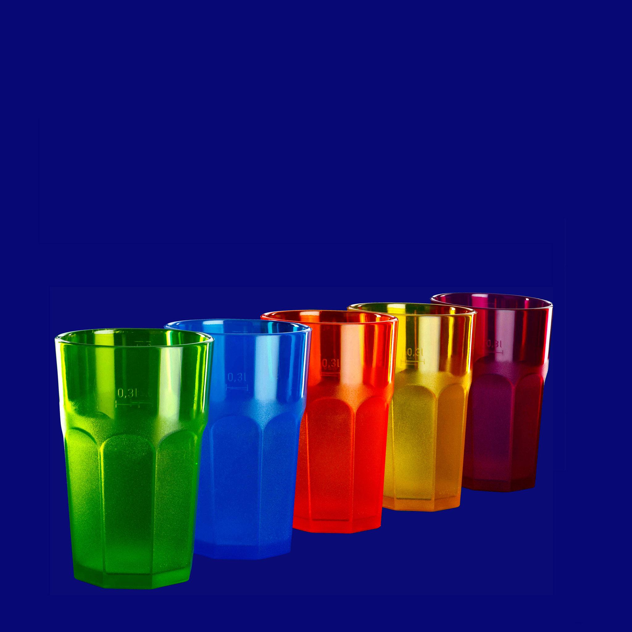 Caipirinha 5 Farben & glasklar