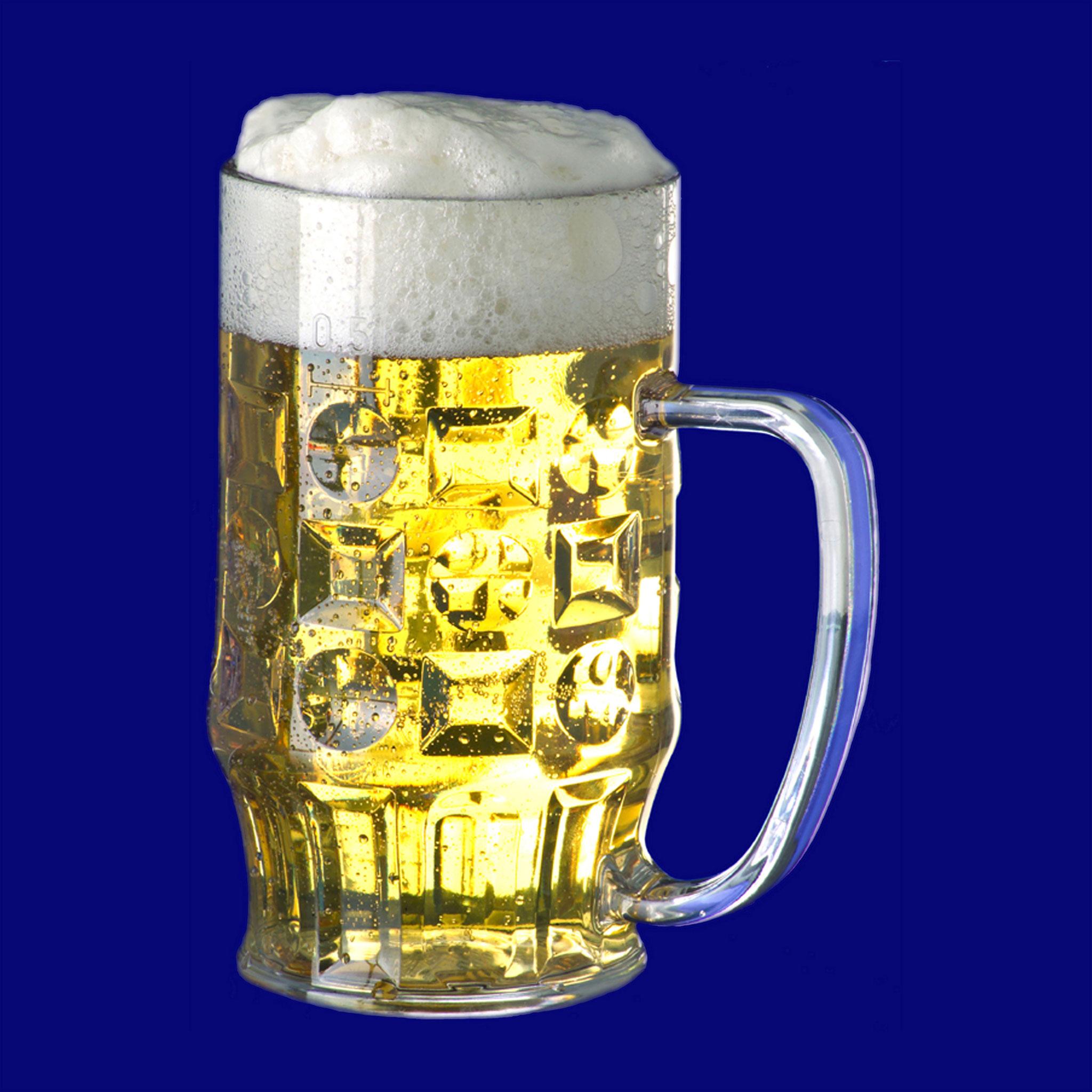 Bierkrug 0.4 oder 0.5l