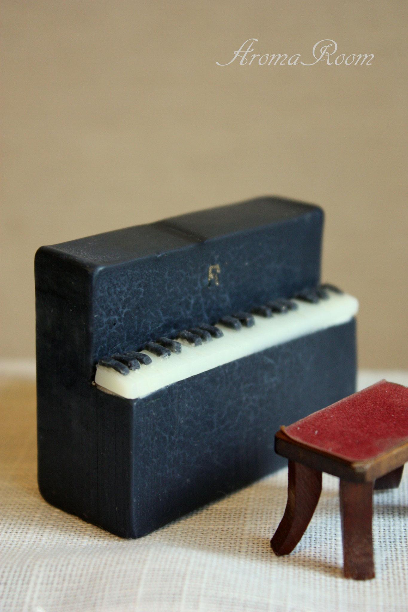 ピアノも石けんです