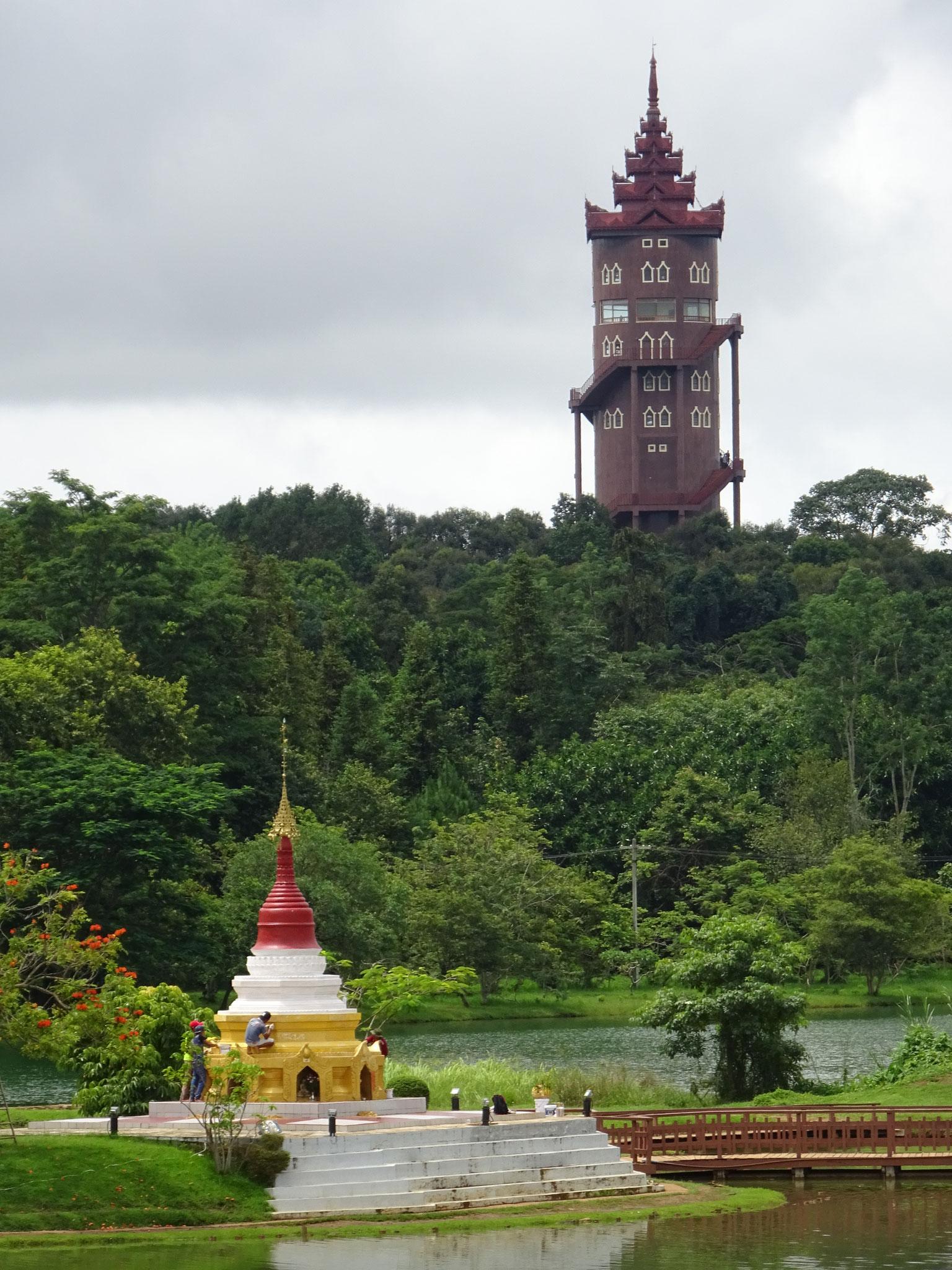 Im Maymyo Botanical Garden/National Kandawgyi Park