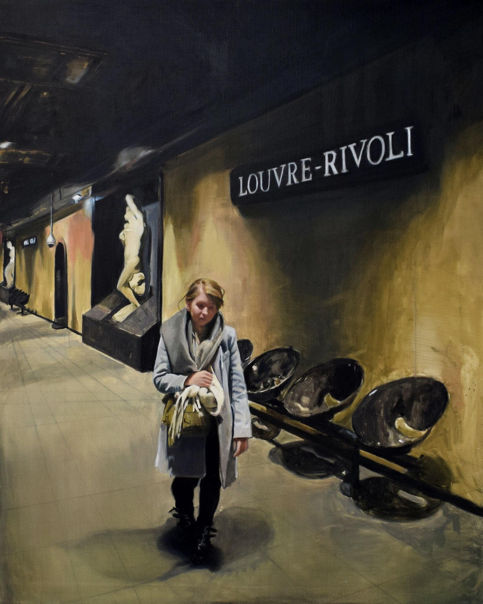 Rivoli Huile sur toile 162x130 2019 collection privée