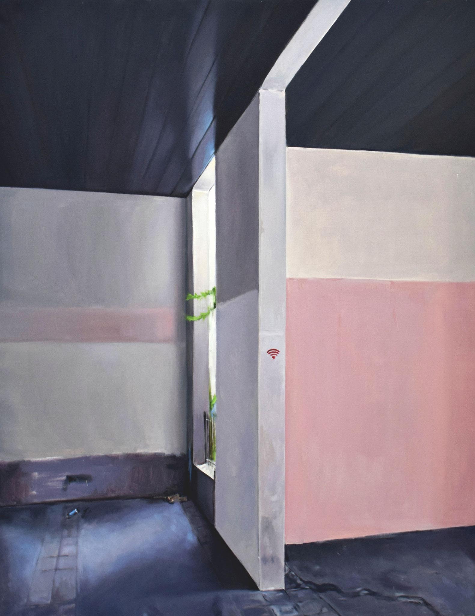 Entre les MurS Huile sur toile  114 x 146 cm 2018