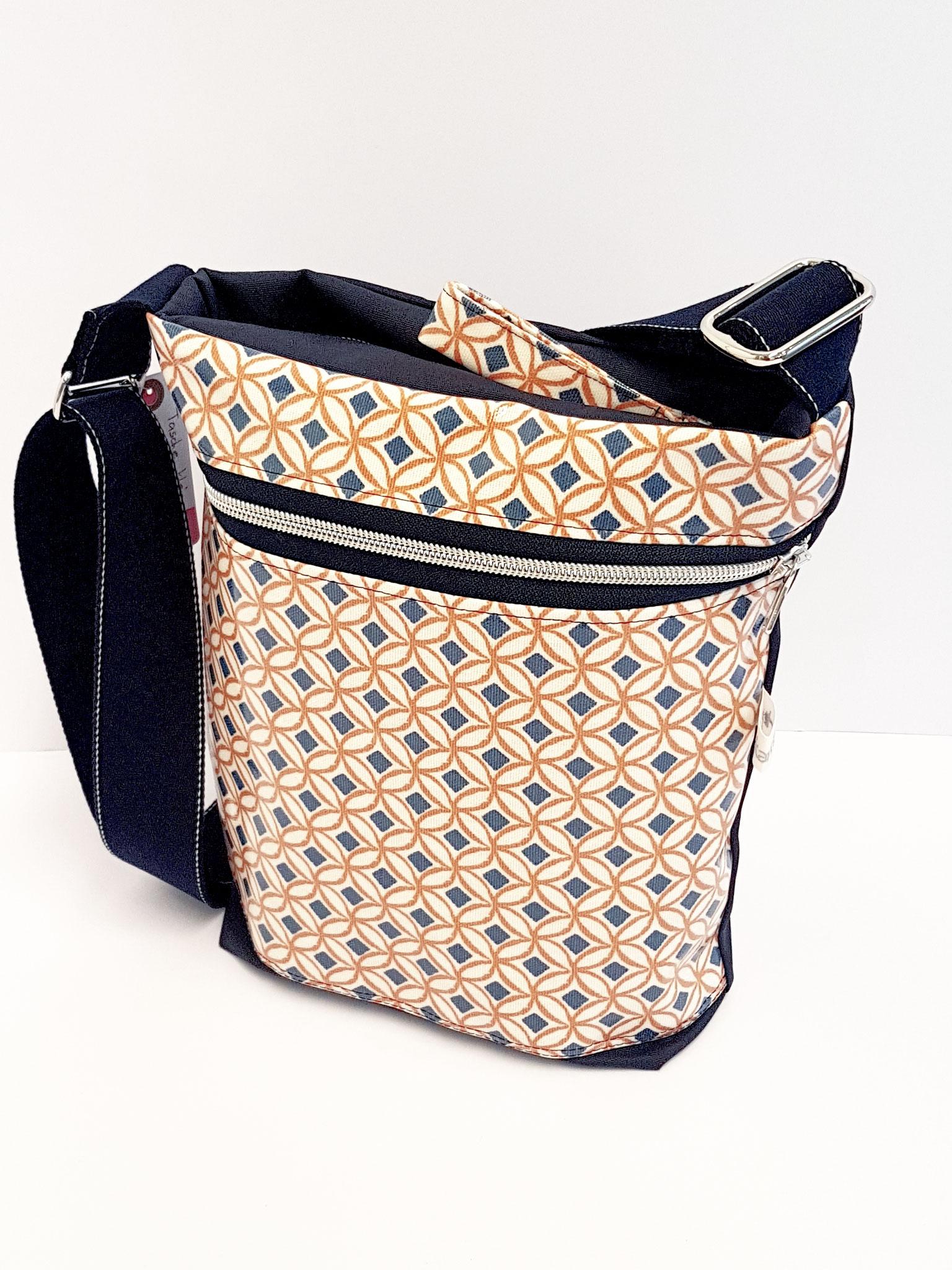 Tasche Gewachster Canvas-Wachstuch, verkauft