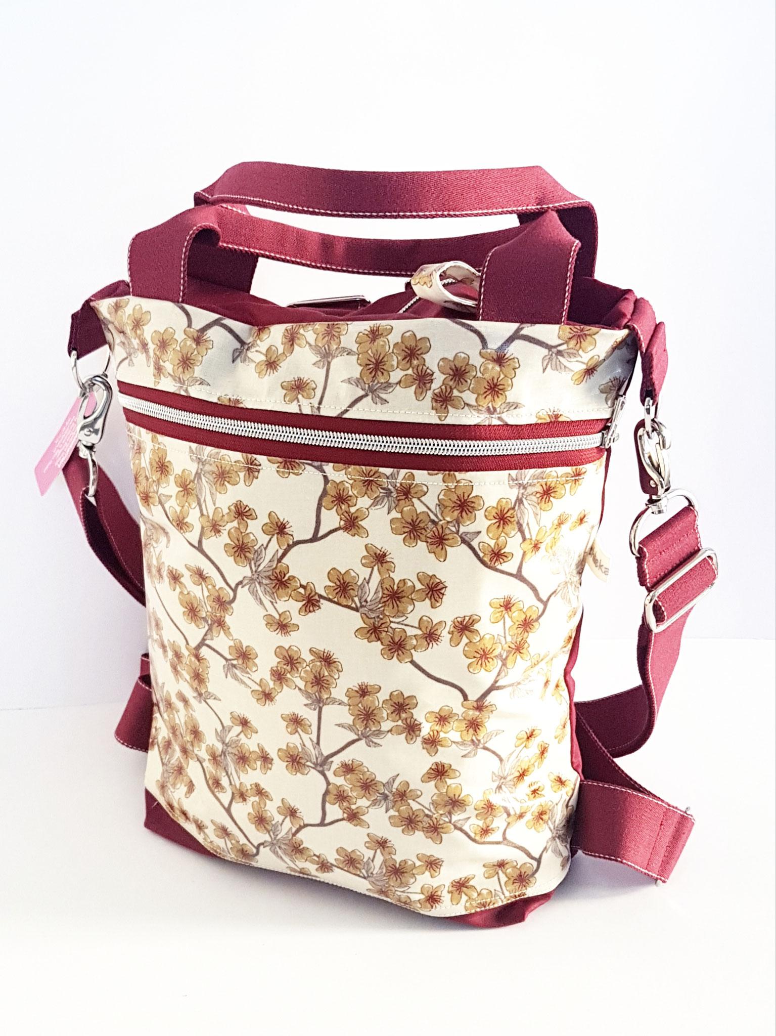 3in1 Bag M, Oilsikn kombiniert mit Wachstuch, verkauft