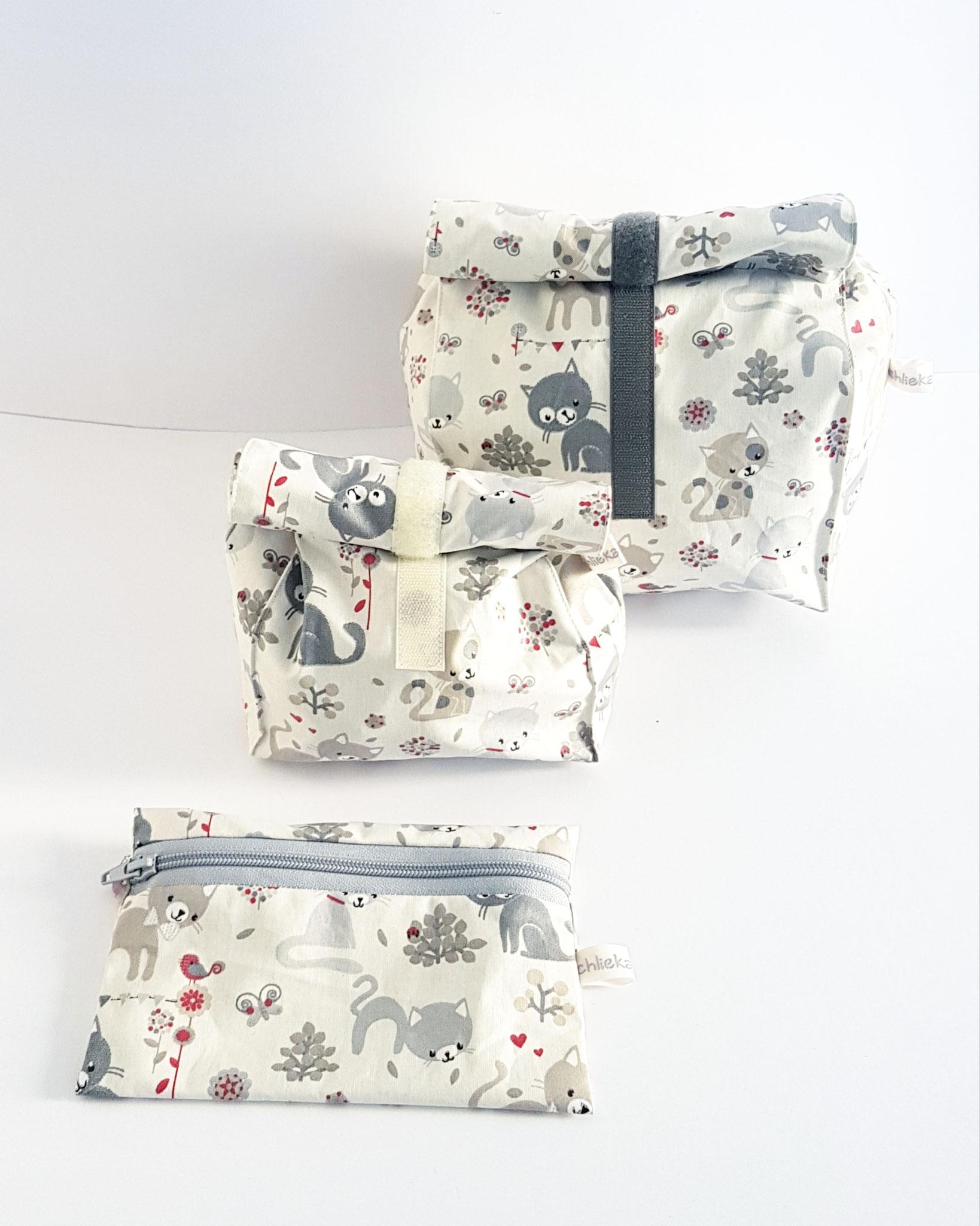 Lunchbag/Utensilio/Maskentäschli