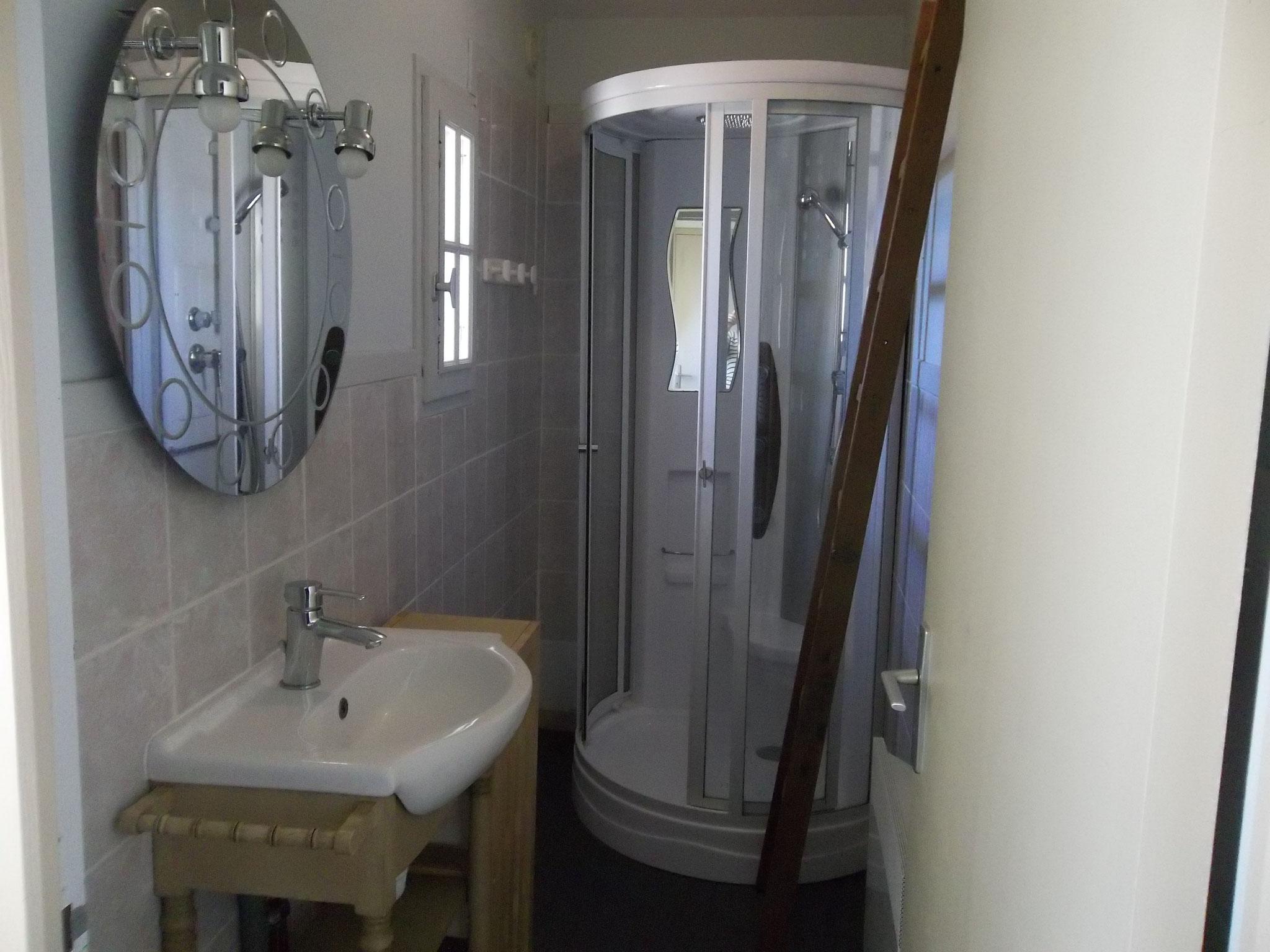 Le Misteflore salle d'eau
