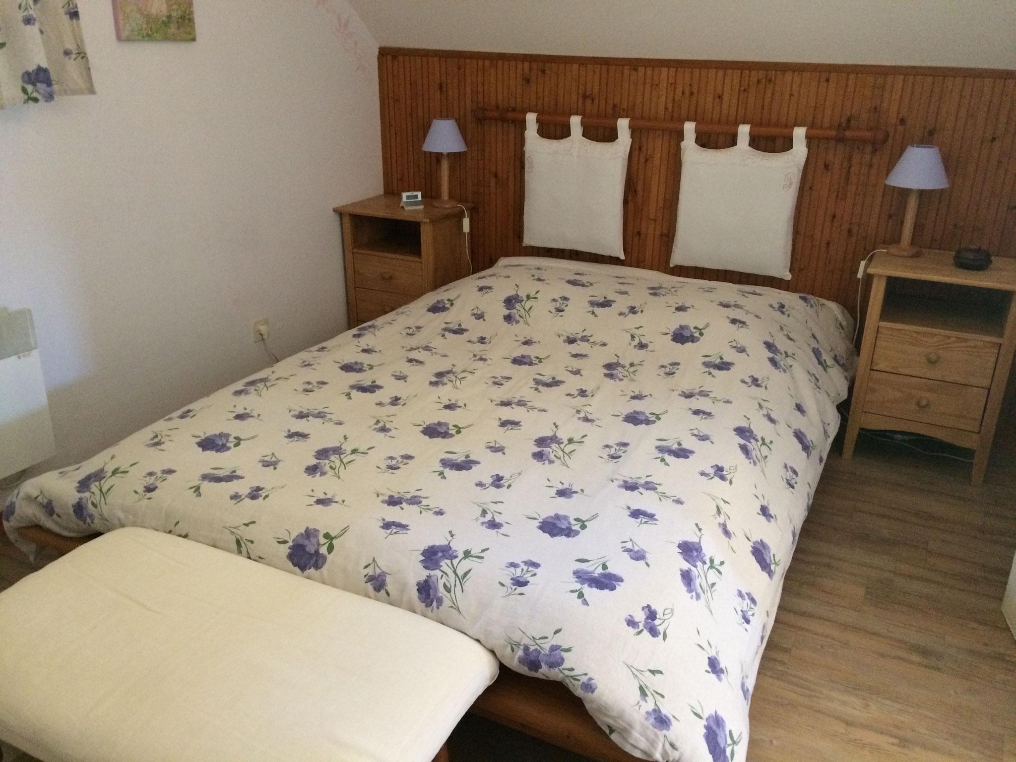 Le Misteflore chambre lit 2 personnes