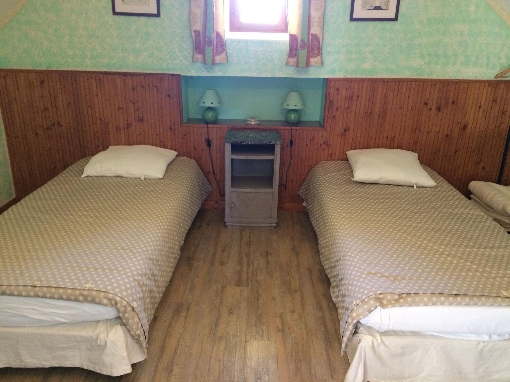 Le Misteflore chambre 2 lits d'une personne