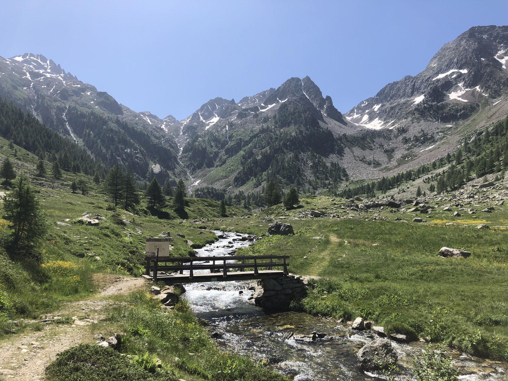 dans le Parc Naturale Alpi Marittime