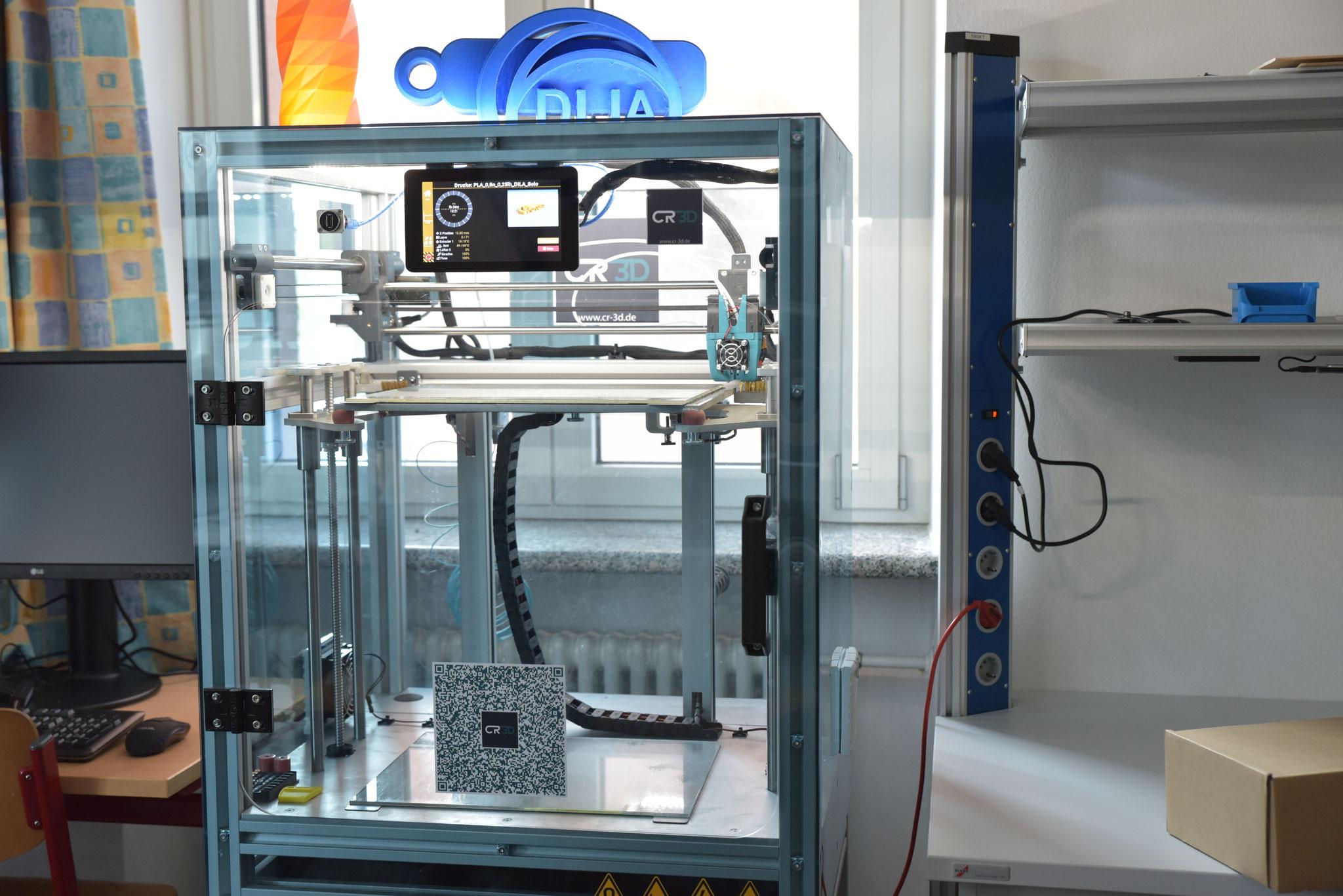 Der 3D-Drucker im DiLa