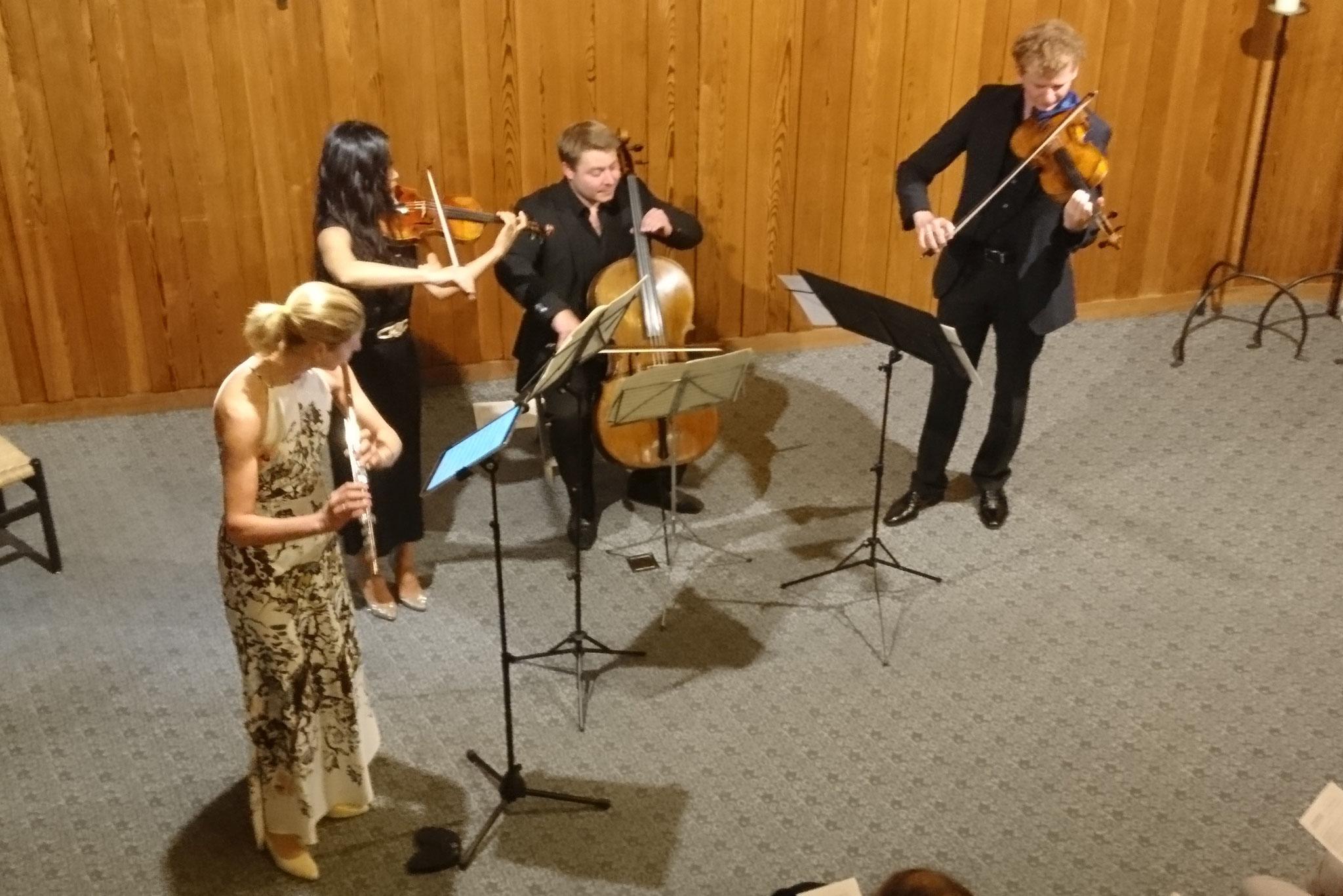 2018 5. Rigi Musiktage, Andrea Lötscher und Orion Streichtrio