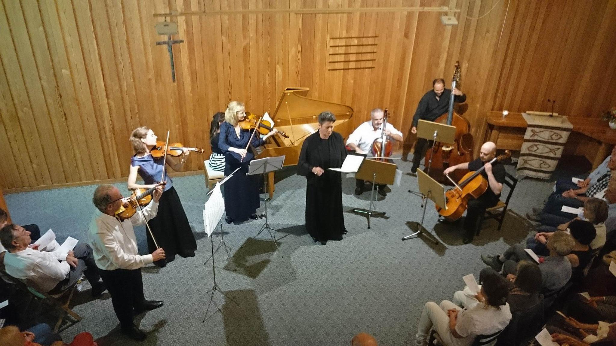 2016  3. Rigi Musiktage, Gerhild Romberger (Alt) und Ensemble