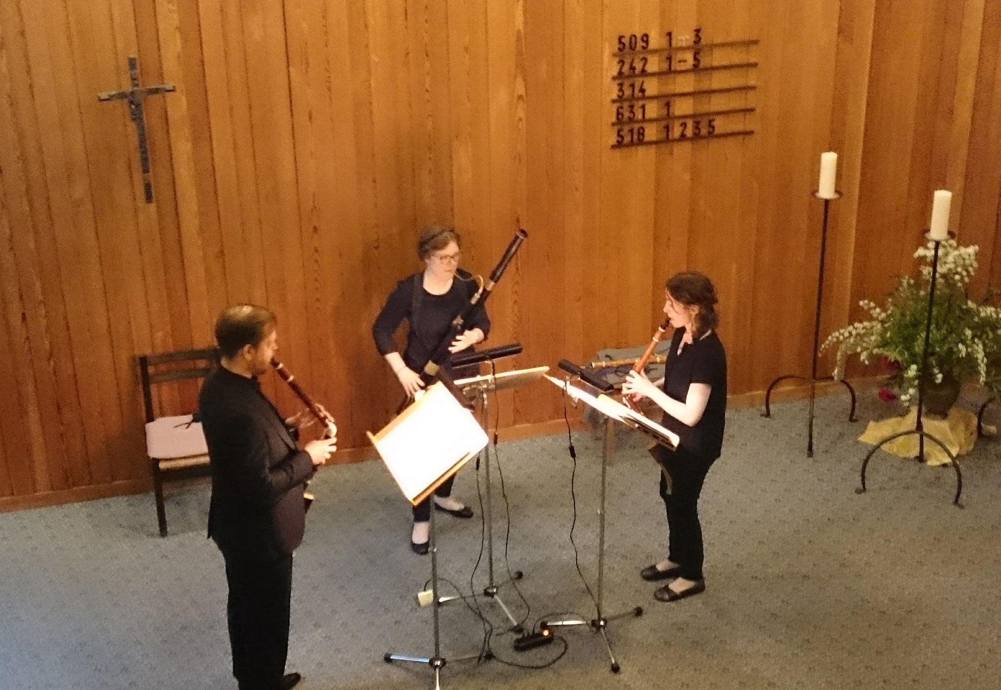 2016  Trio mit Bassetthörner  (Venti delle epoche)