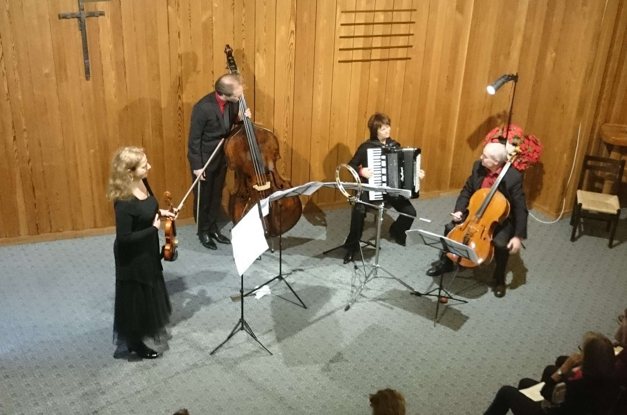 2017 Ensemble 'non Sordino' mit Heldengeschichten