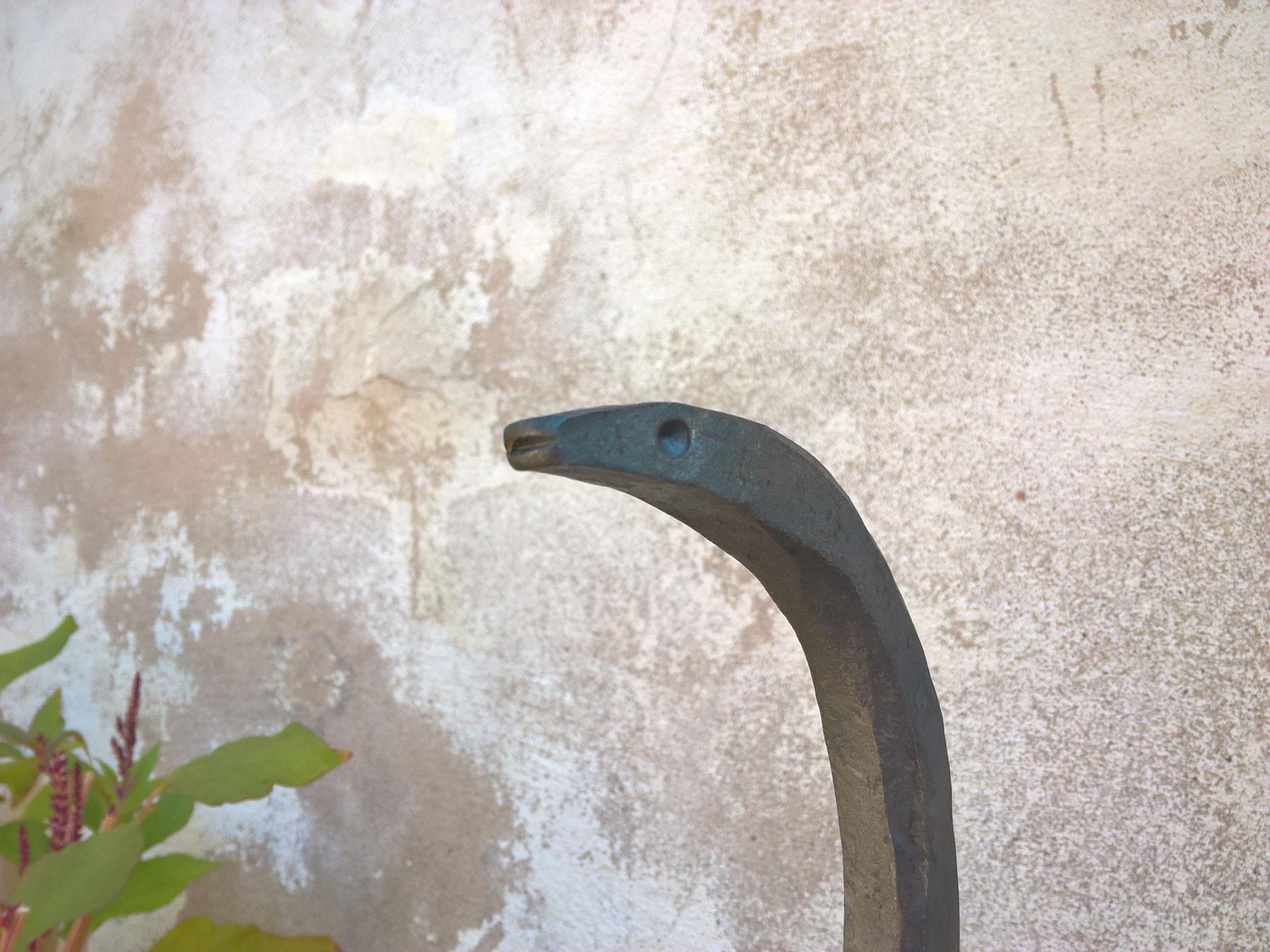 Stab Schlangenkopf