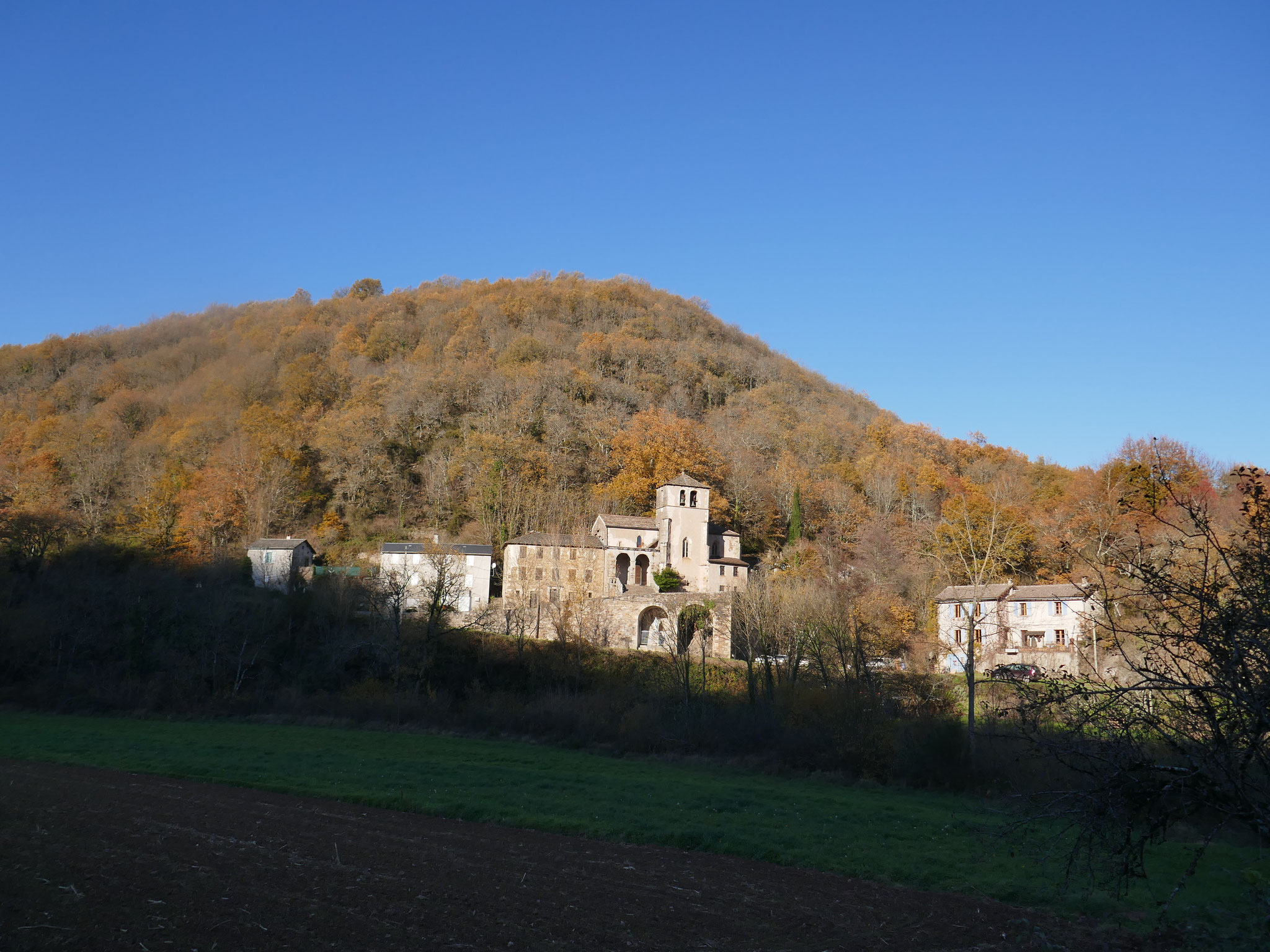 St Exupère, tout proche, dans la vallée du Gos