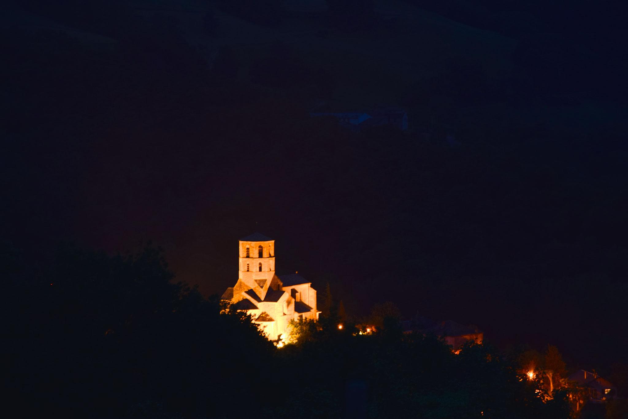 Le village de Plaisance de nuit